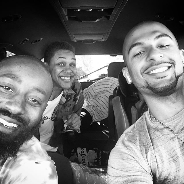 On the road to NJ! #SpeakLifeNJNY too much fun!