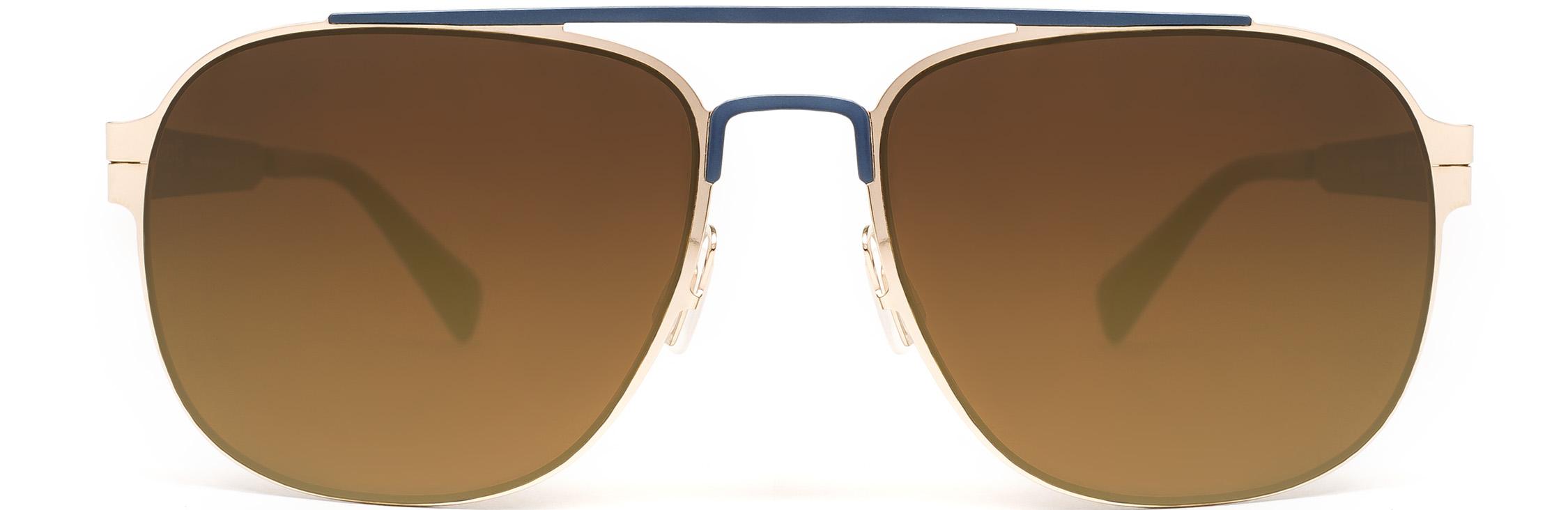 Gold-Navy Blue