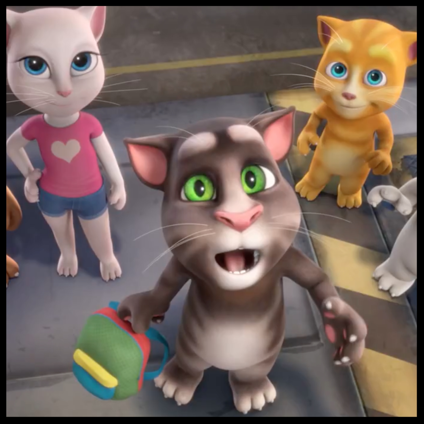 talking tom & friends: the contest
