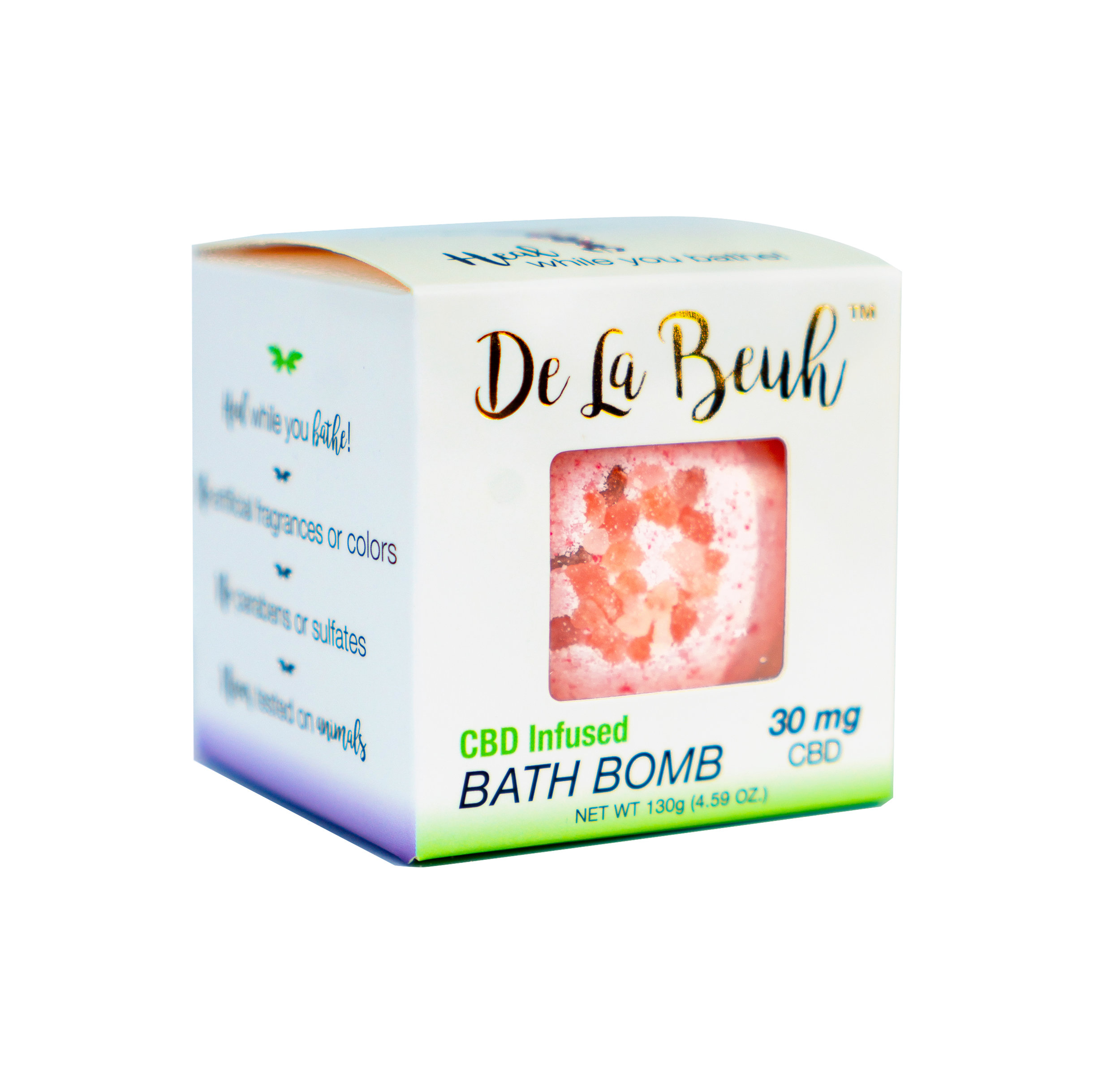 1.   De La Beuh Bath Bomb    Give your mother the ultimate relaxation with a De La Beuh CBD bath bomb. You know how hard your mom works, if you want to show her how proud of her you are for everything she has done for you then this is the perfect gift. These pain relieving bath bombs are handcrafted with organic ingredients and they are even cruelty free! For an amped up gift get her the De La Beuh coffee scrub and skin oil too!