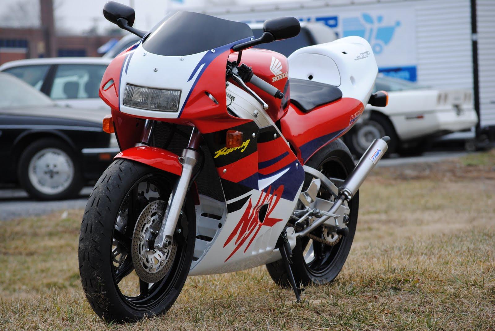NSR250 Red Front Left.JPG