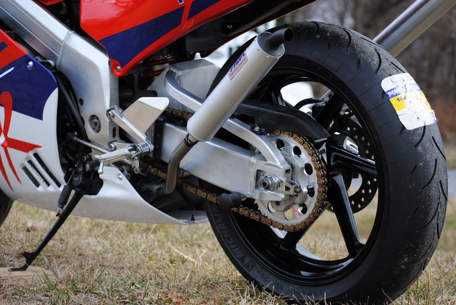 NSR250 Red Rear Wheel.JPG