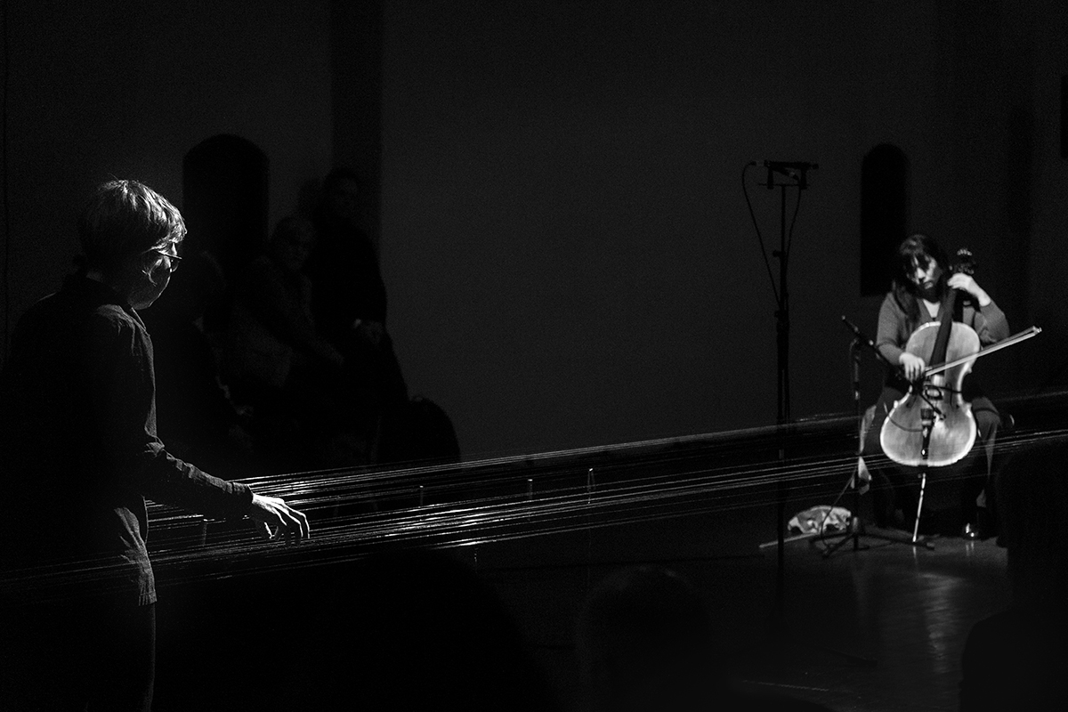 photo: Micke Keysendal, cellist: Okkyung Lee