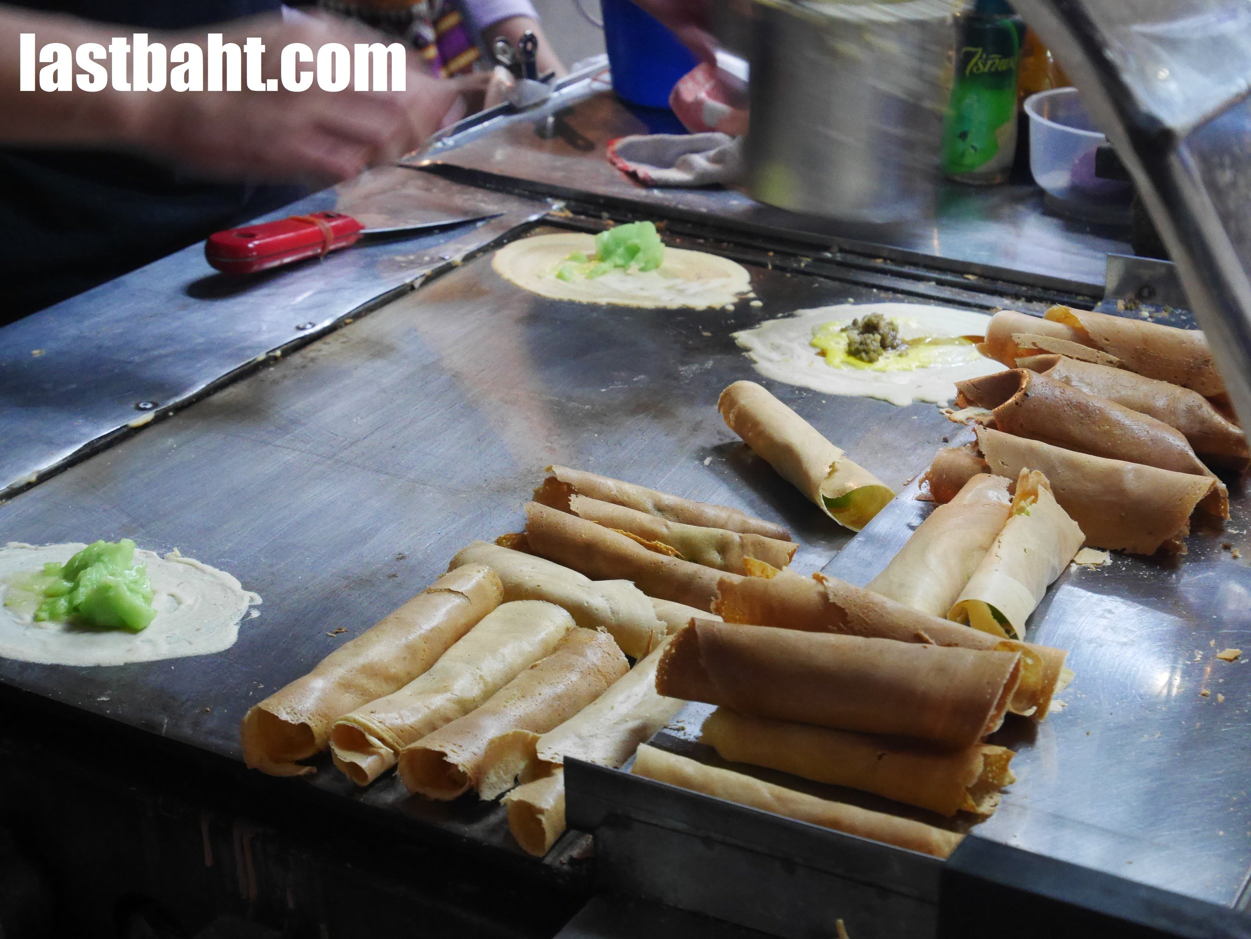"""Tokyo"" Bangkok street food snack for sale"