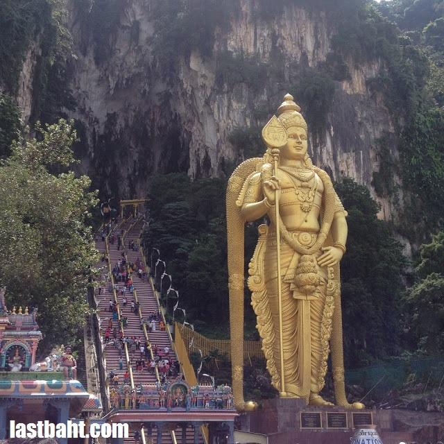 Batu Caves, just outside Kuala Lumpur, Malaysia