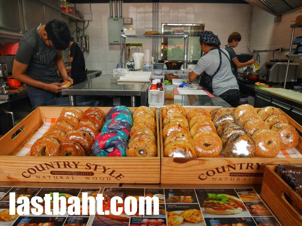 BKK Bagel Bakery near BTS Chitlom, Bangkok, Thailand