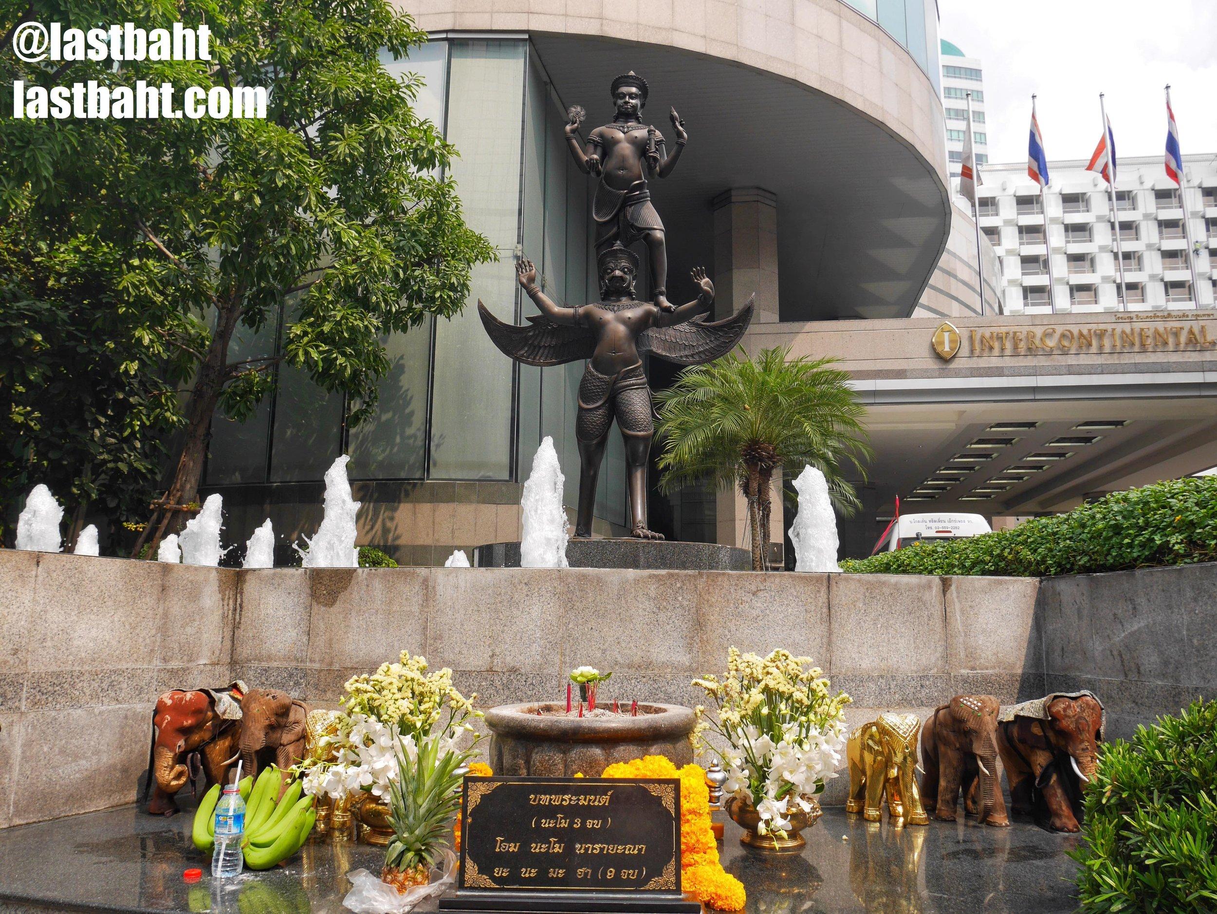 Narayana Shrine at the Hotel Intercontinental, Bangkok