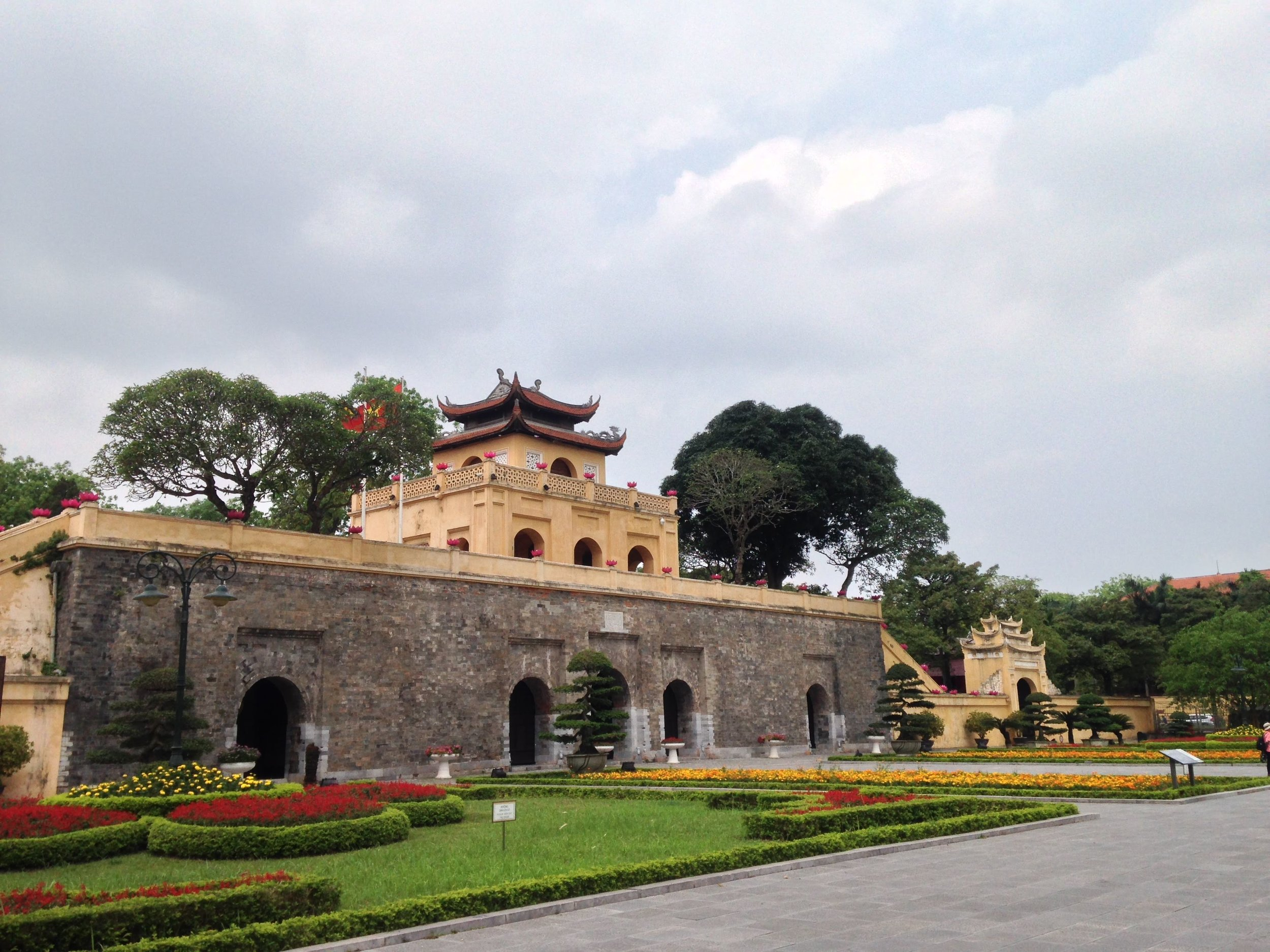 Tang Long Citadel front gate