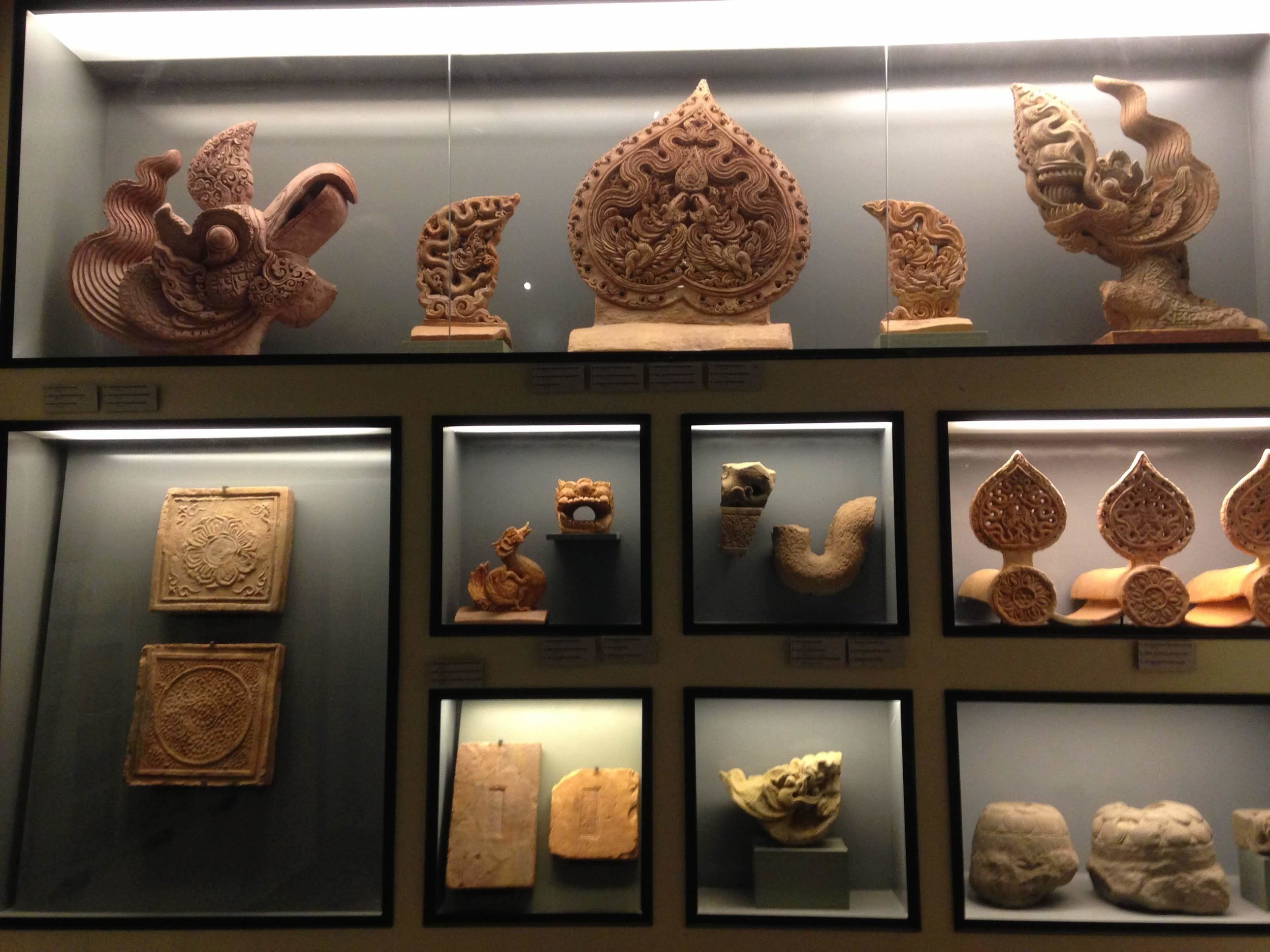 archaeological artifacts recovered from the citadel