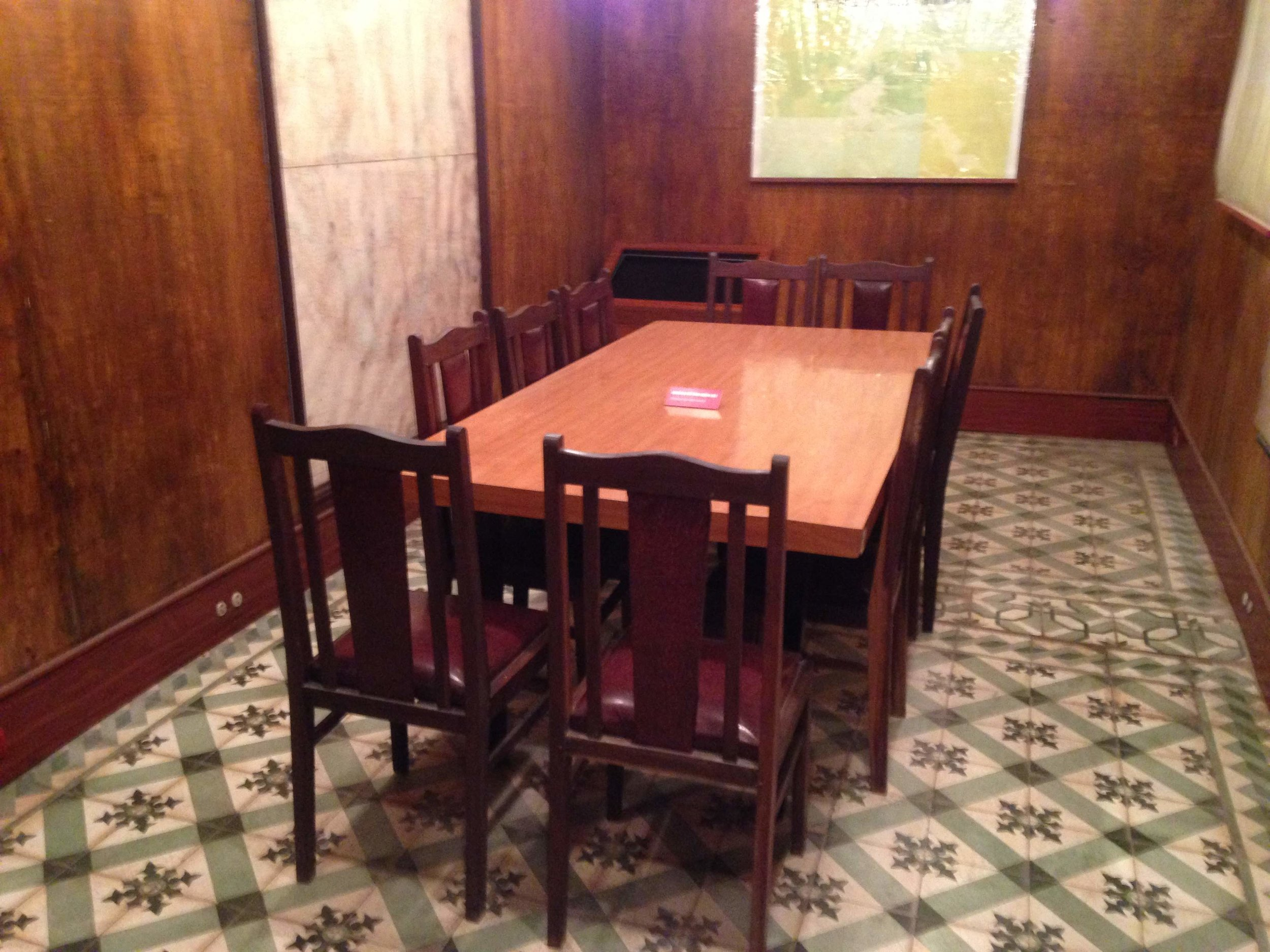 military meeting room at D67