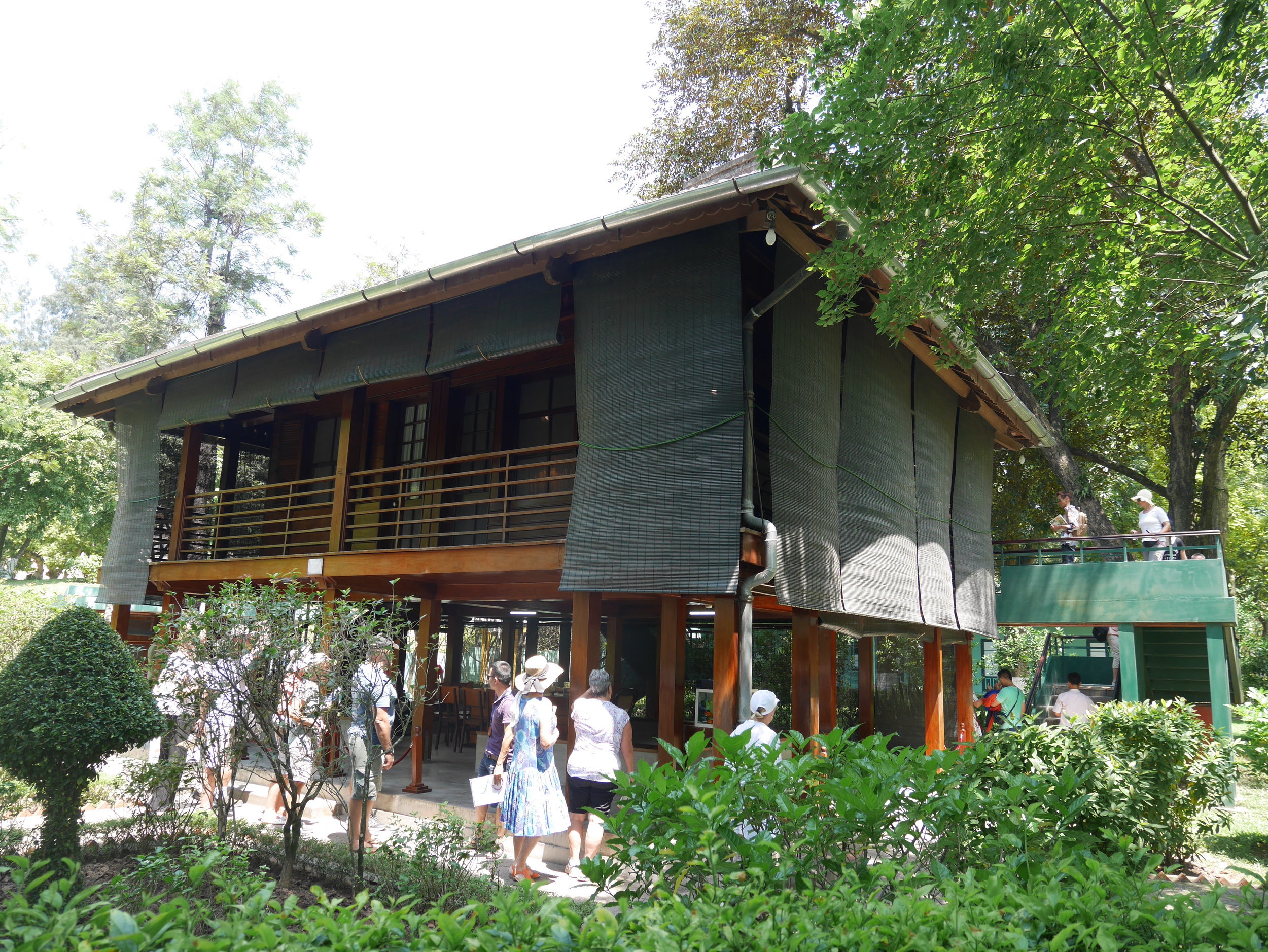 Uncle Ho's  stilt house