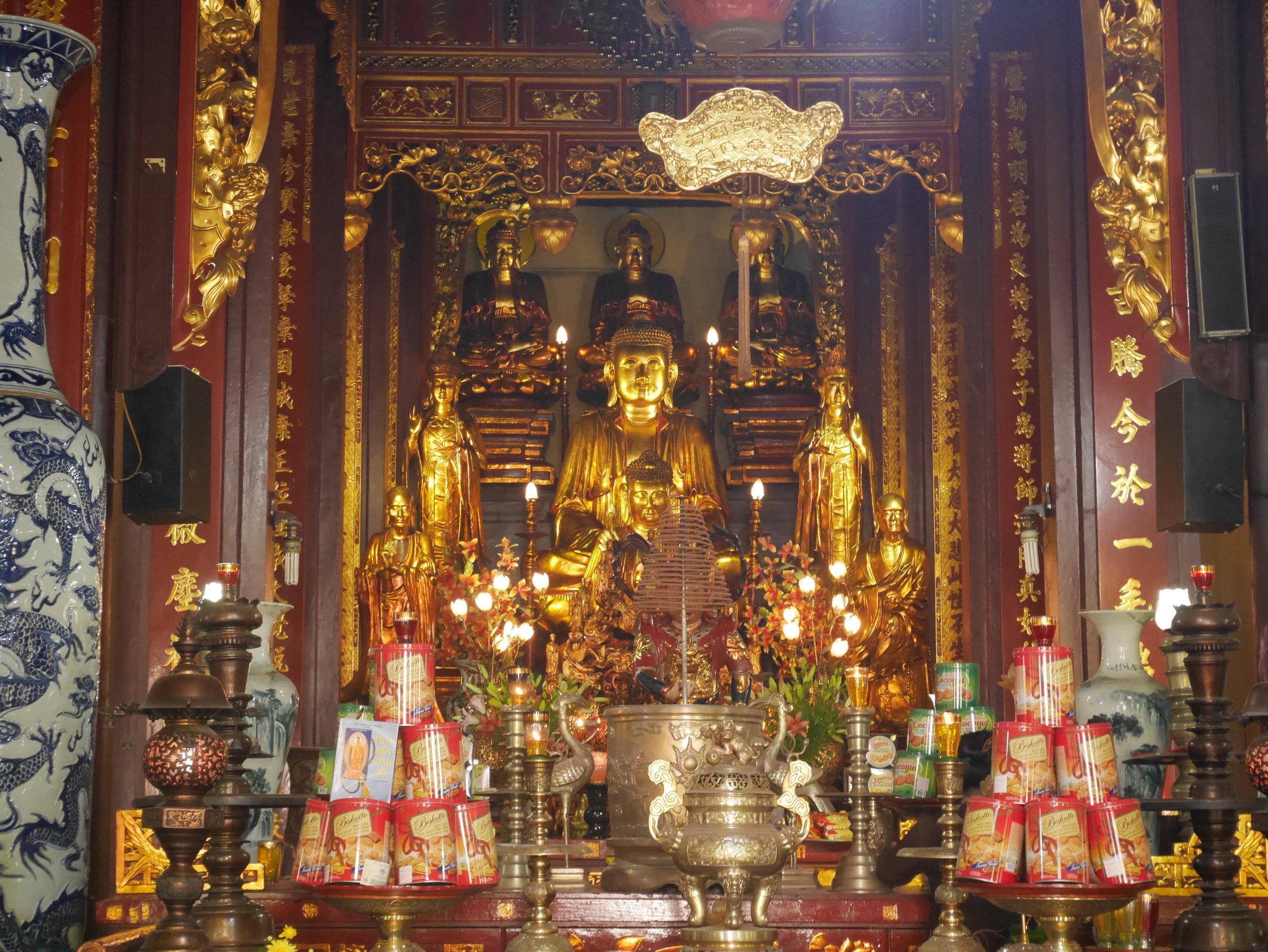 Vietnamese Buddhist shrine