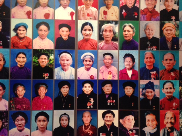female revolutionaries and Vietnamese heroes