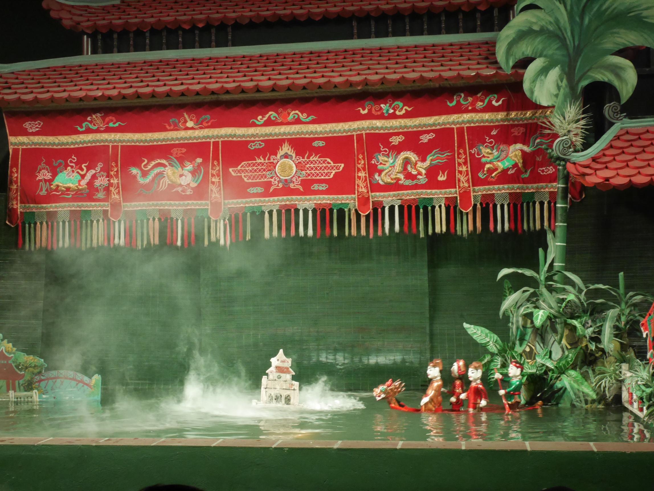 returning the sword to Hoan Kiem Lake