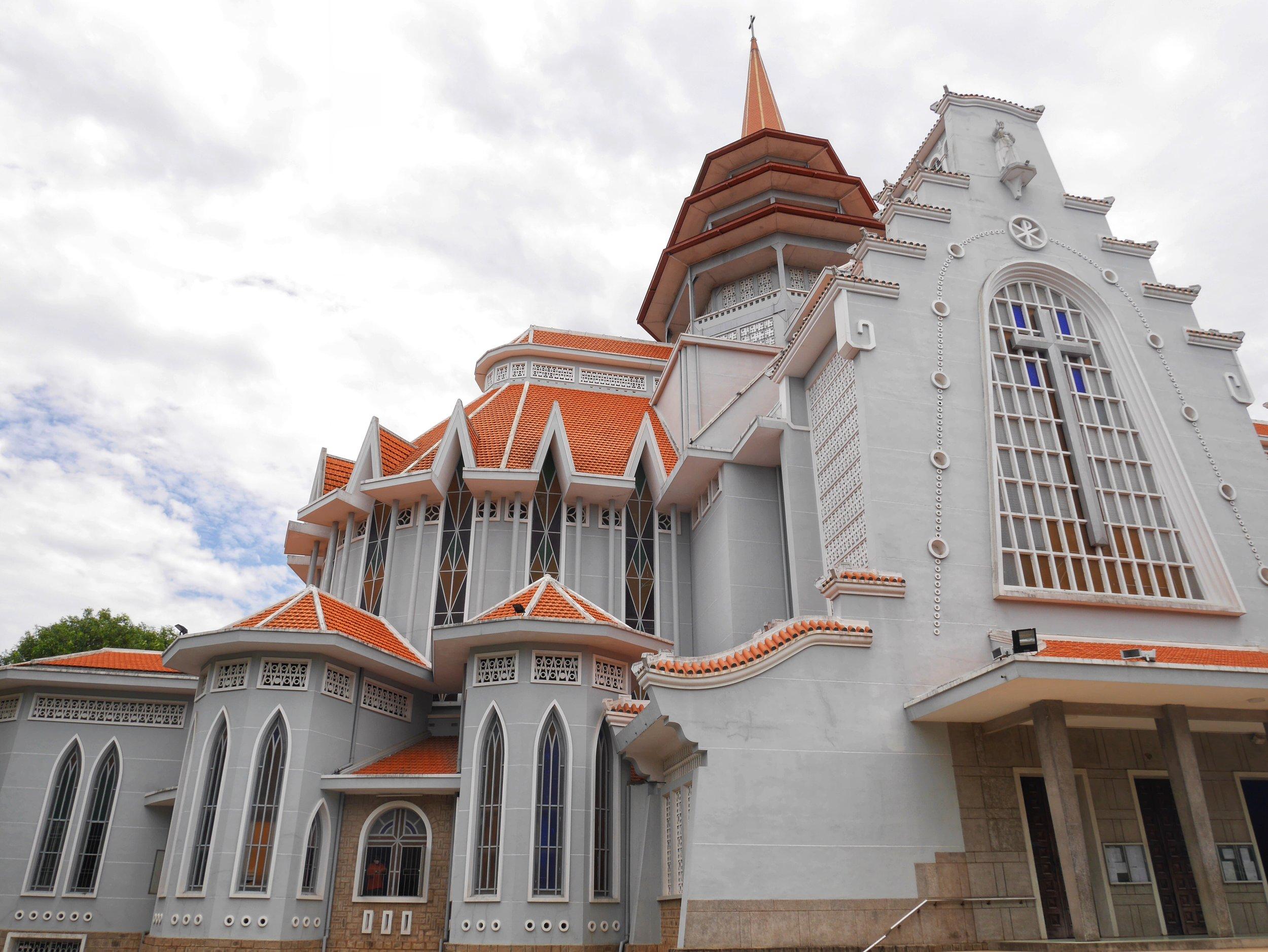 Redemptorist church Hue, Vietnam