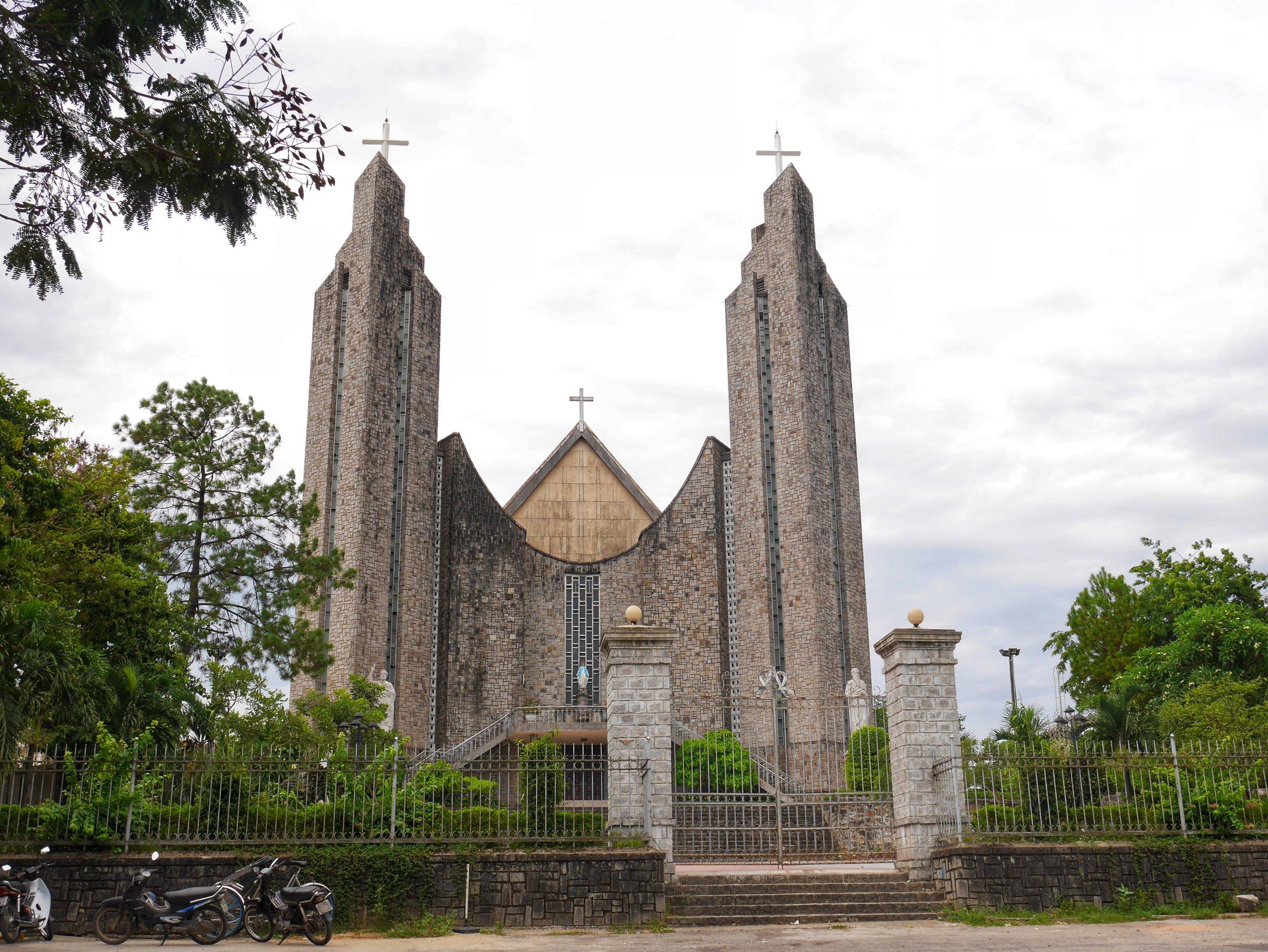 Hue, Vietnam Cathedral Roman Catholic