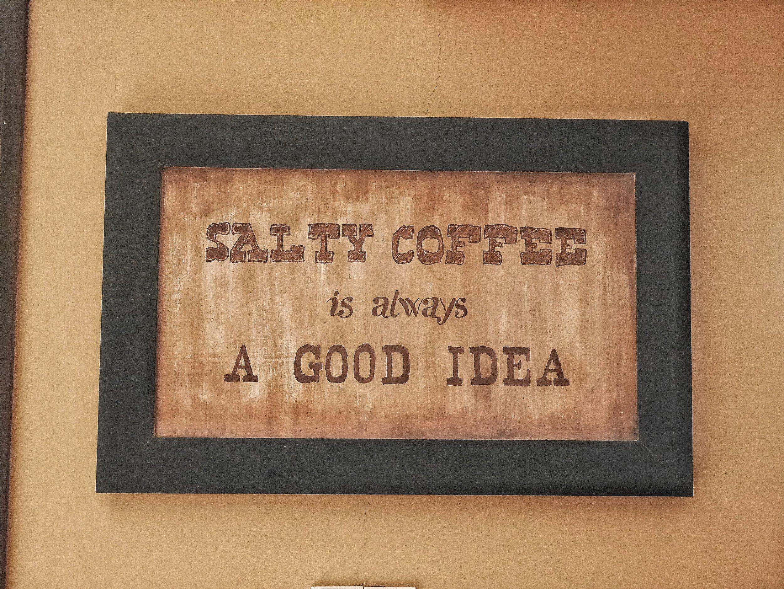 Vietnam salt coffee cafe Hue