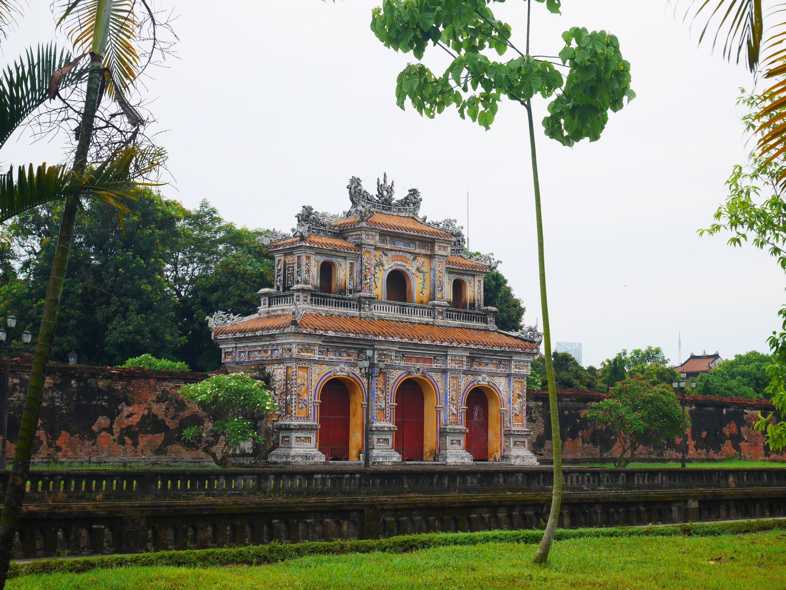 gate at Hue ancient city