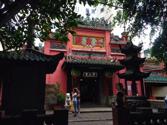 The Jade Emperor Pagoda Saigon (Ho Chi Minh City)