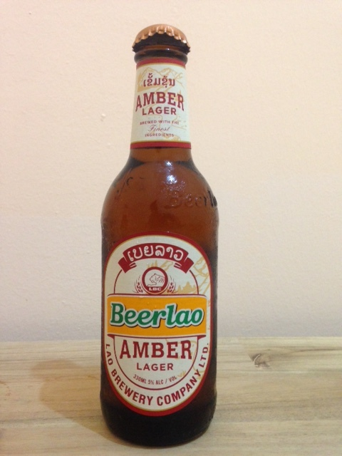 NEW Beer Lao Amber Lager