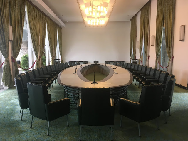 South Vietnam Cabinet Meeting Room