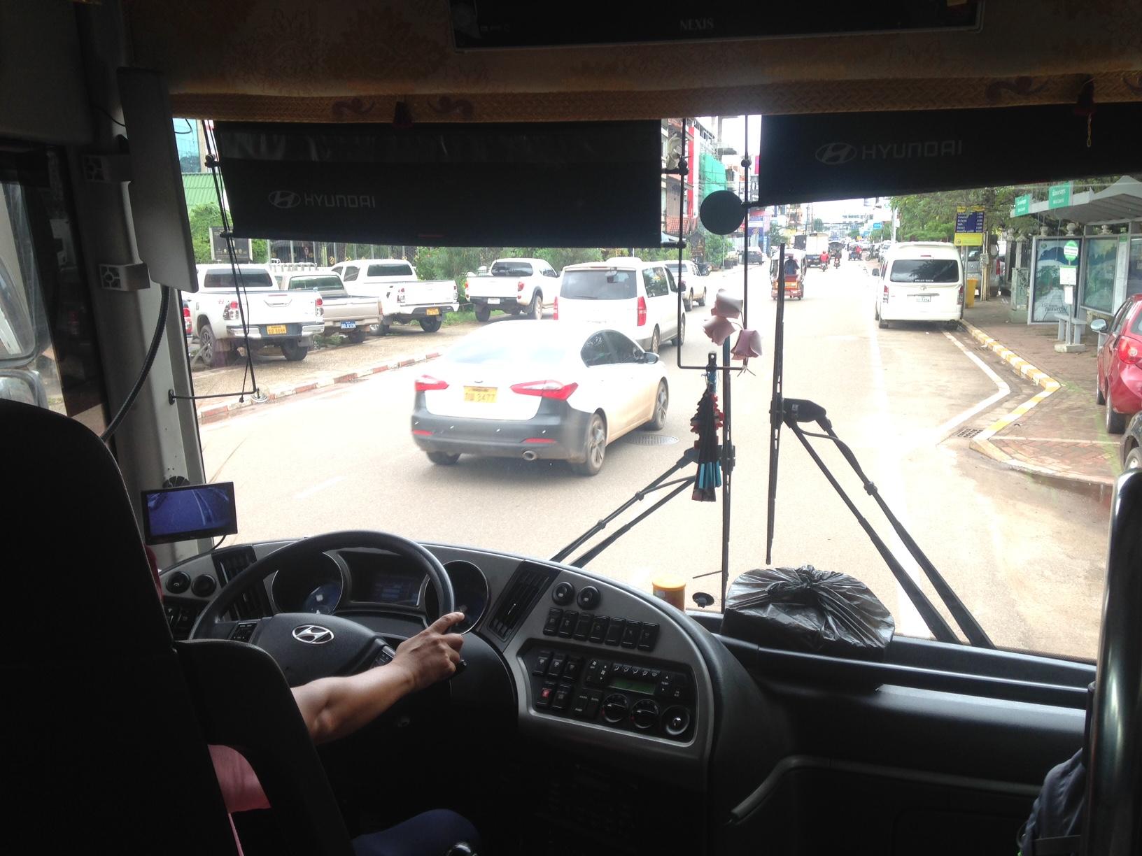 leaving Vientiane