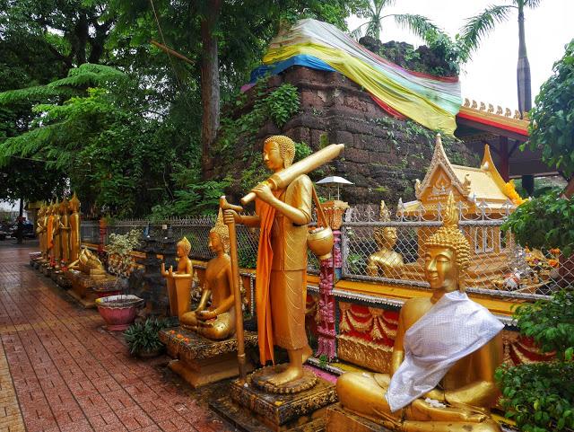 original Khmer stupa
