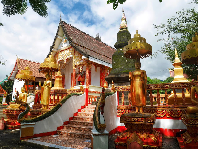 another beautiful and historic temple in Vang Vieng, Laos