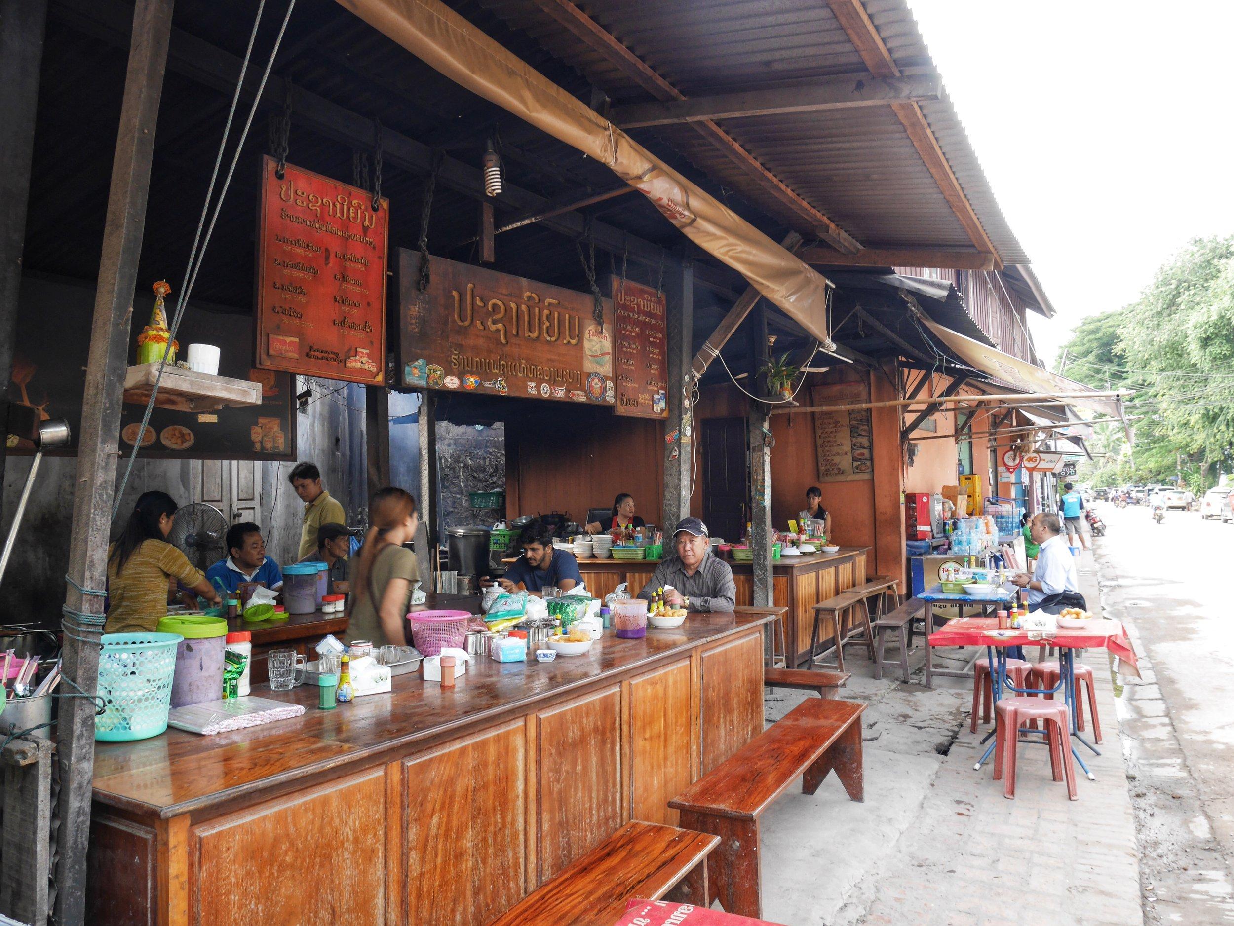 Prachaniyom Coffee Shop, Luang Prabang, Laos
