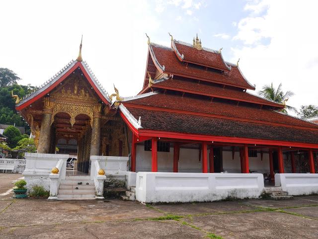 Luang Prabang Wat Mai temple