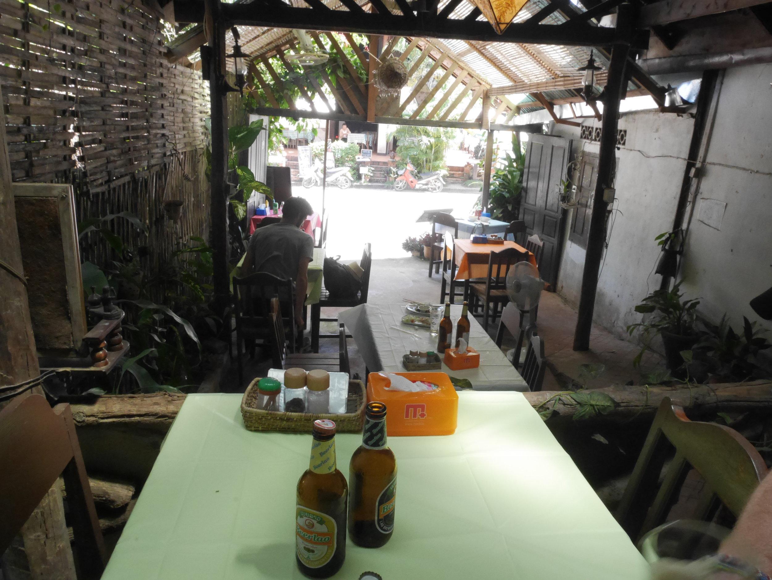 Banpa restaurant, Luang Prabang