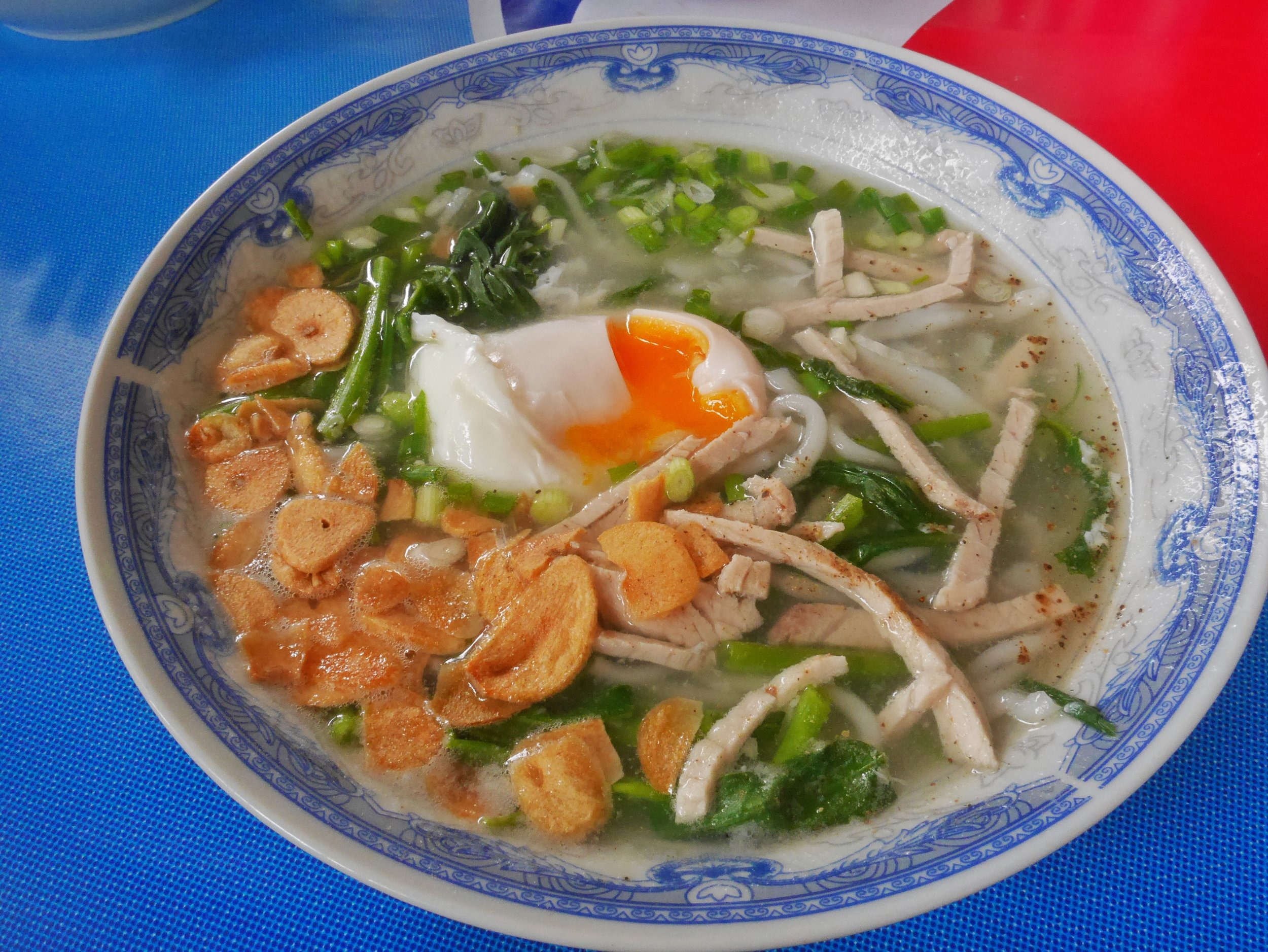 Delicious noodle in Luang Prabang