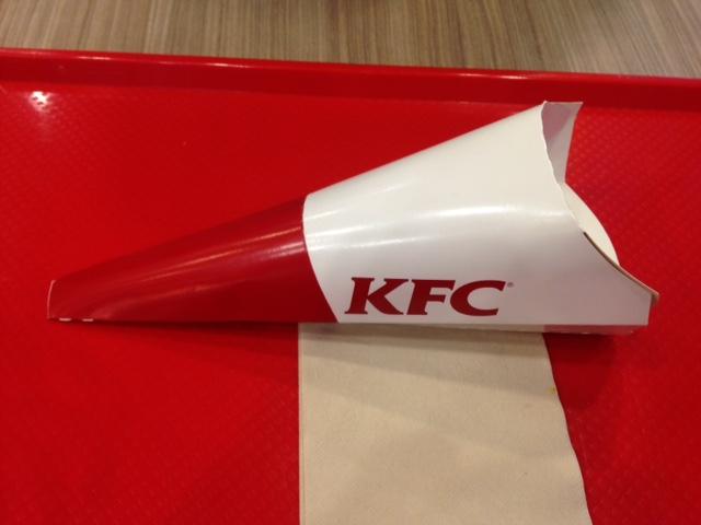 KFC Chiffle cone