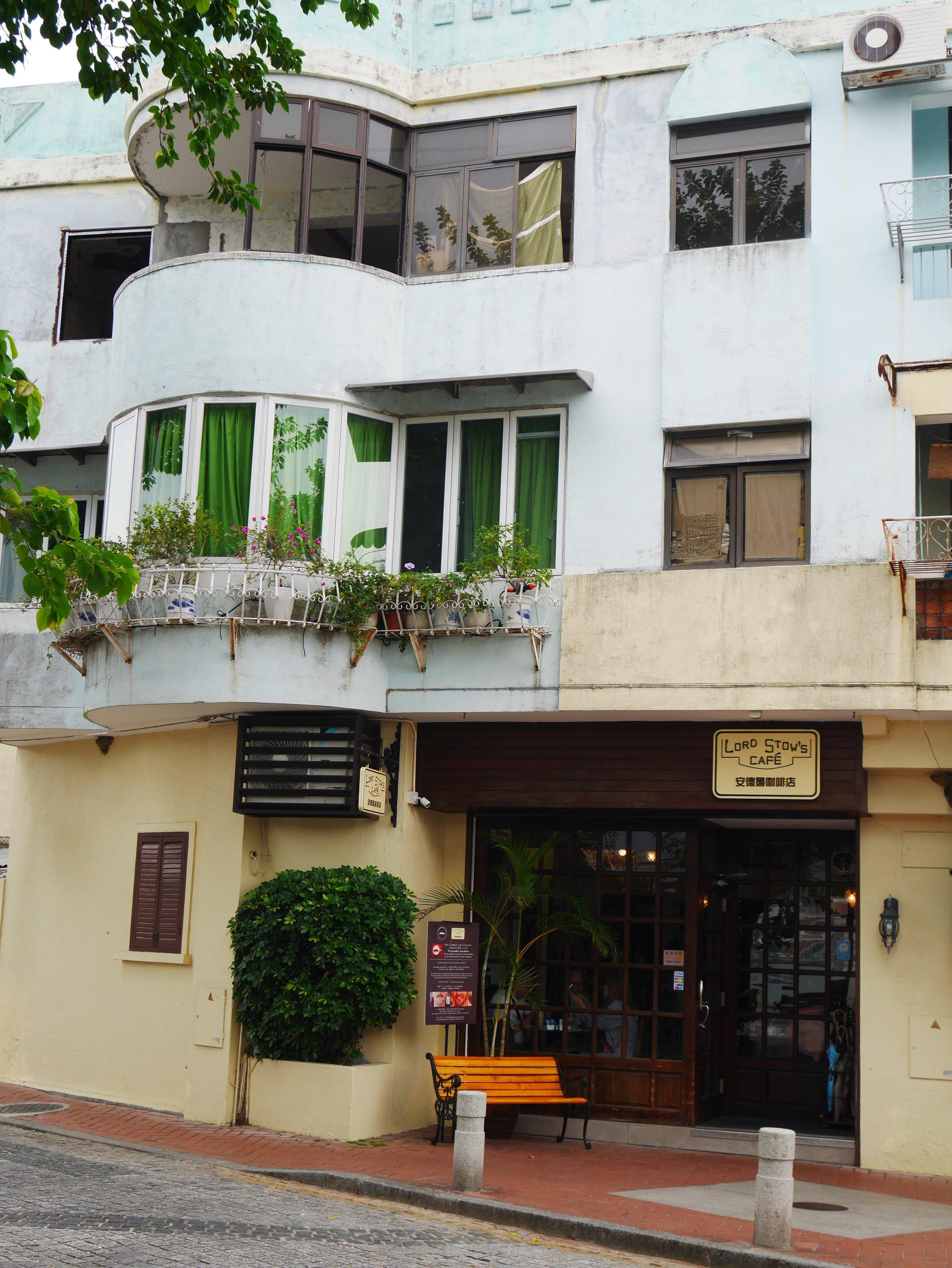 Lord Stow's Cafe, Coloane, Macau