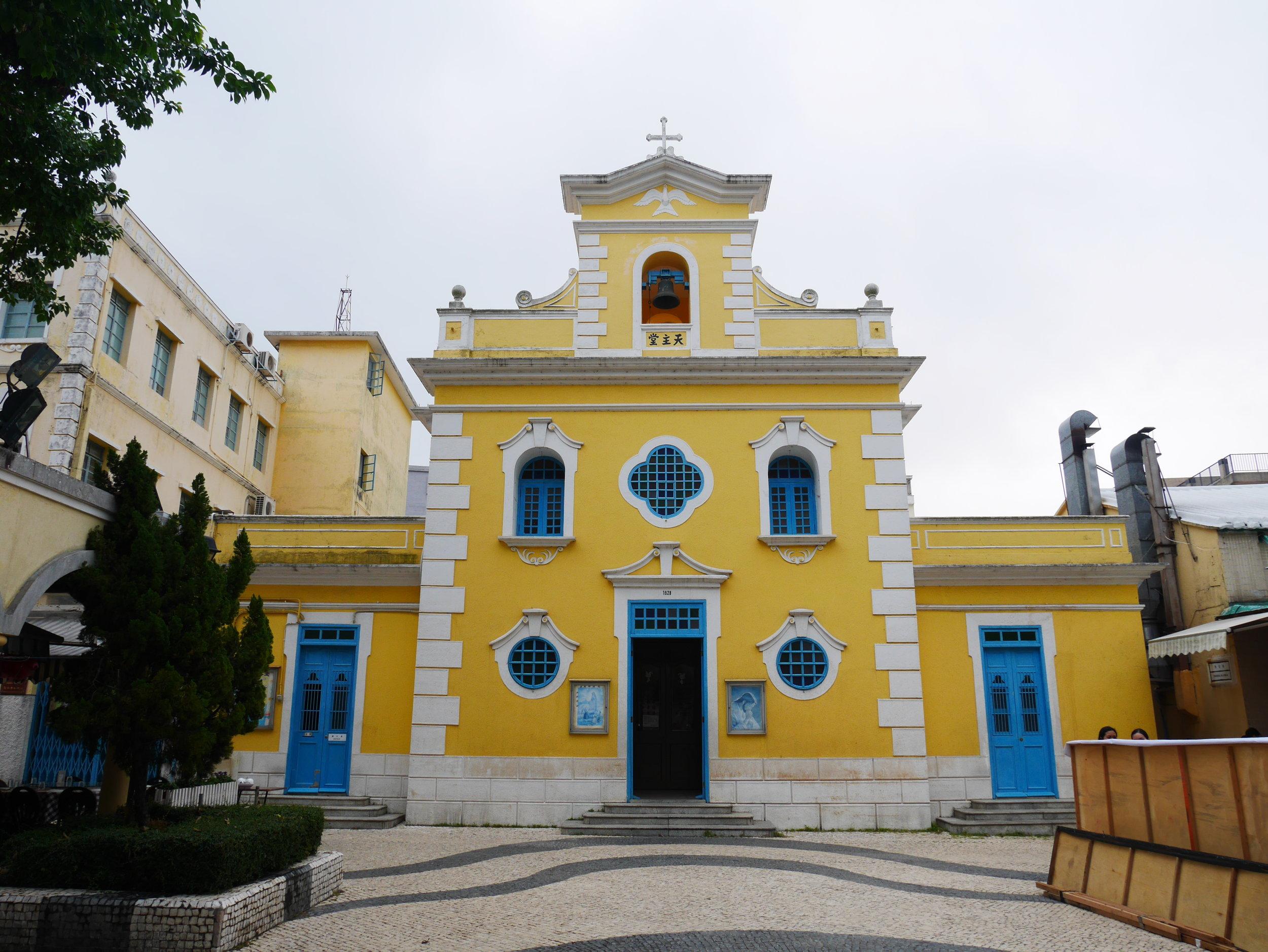 Chapel of St.Francis Xavier, Macao