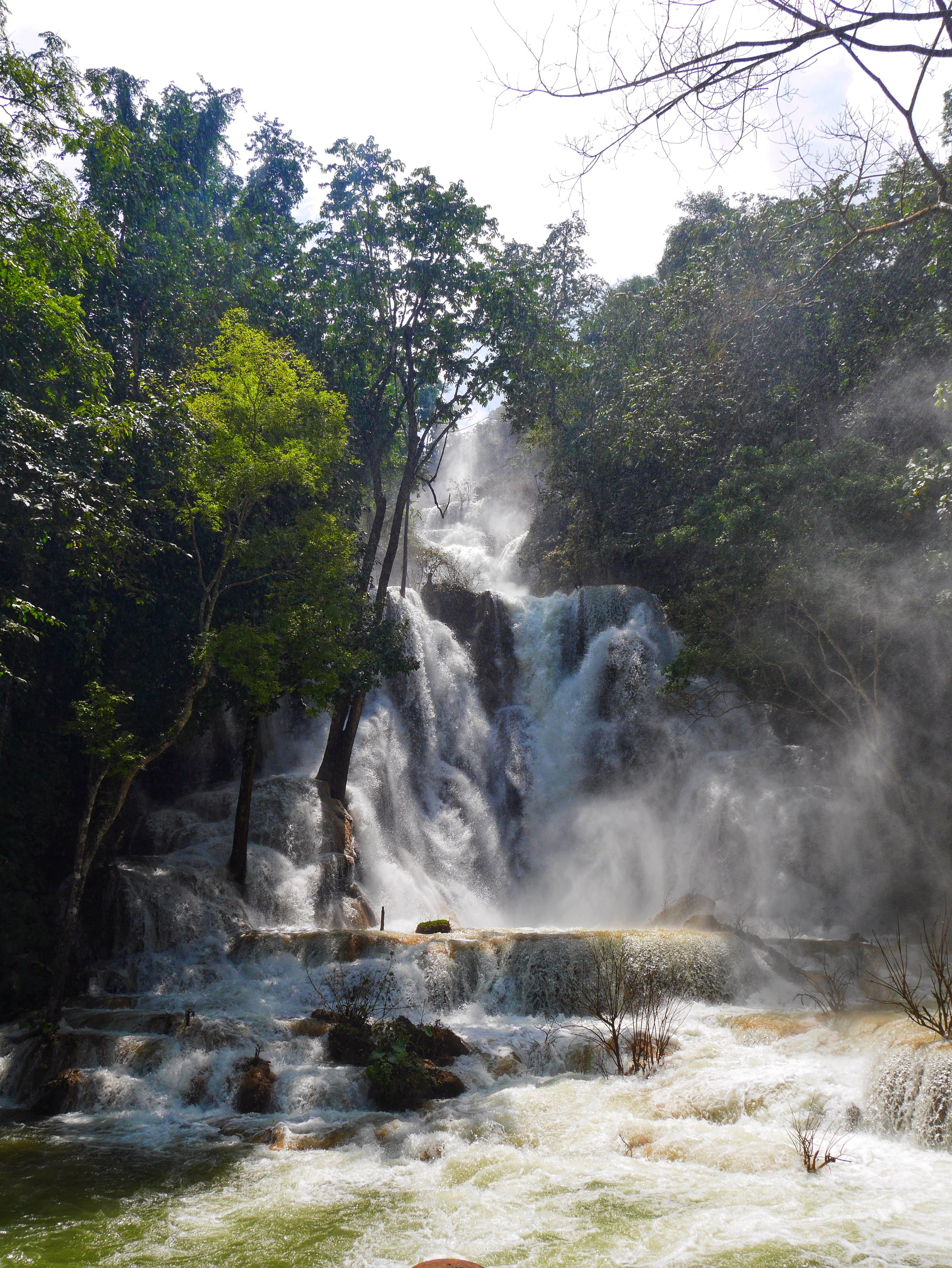 The world-famous Kuang Si Falls are located just 30km outside of Luang Prabang, and make for a great half-day trip from the city
