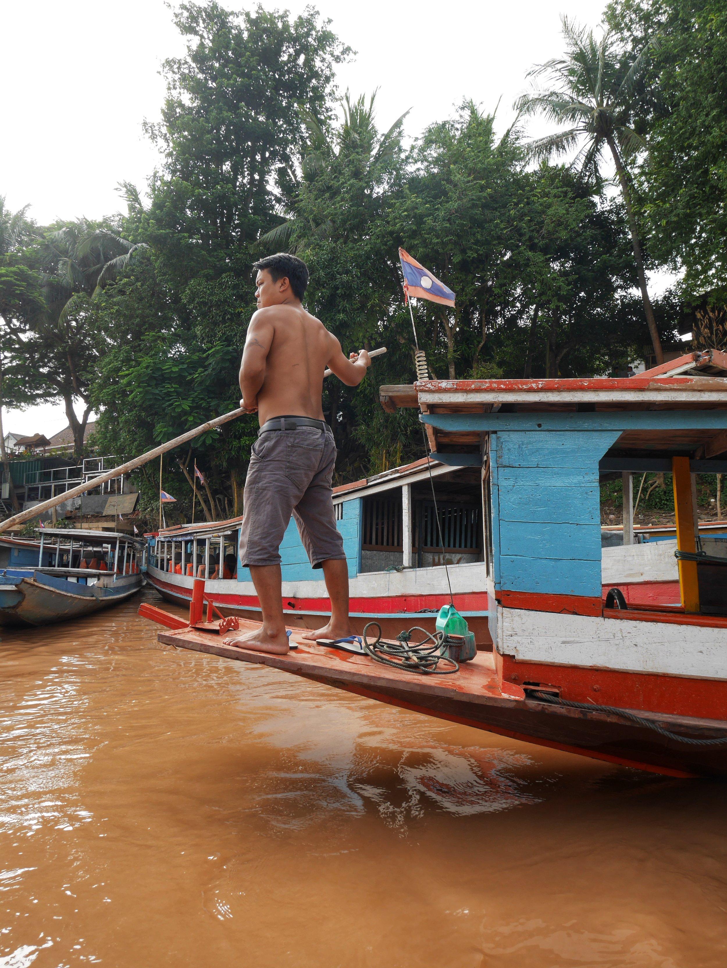 Luang Prabang Boat Ride