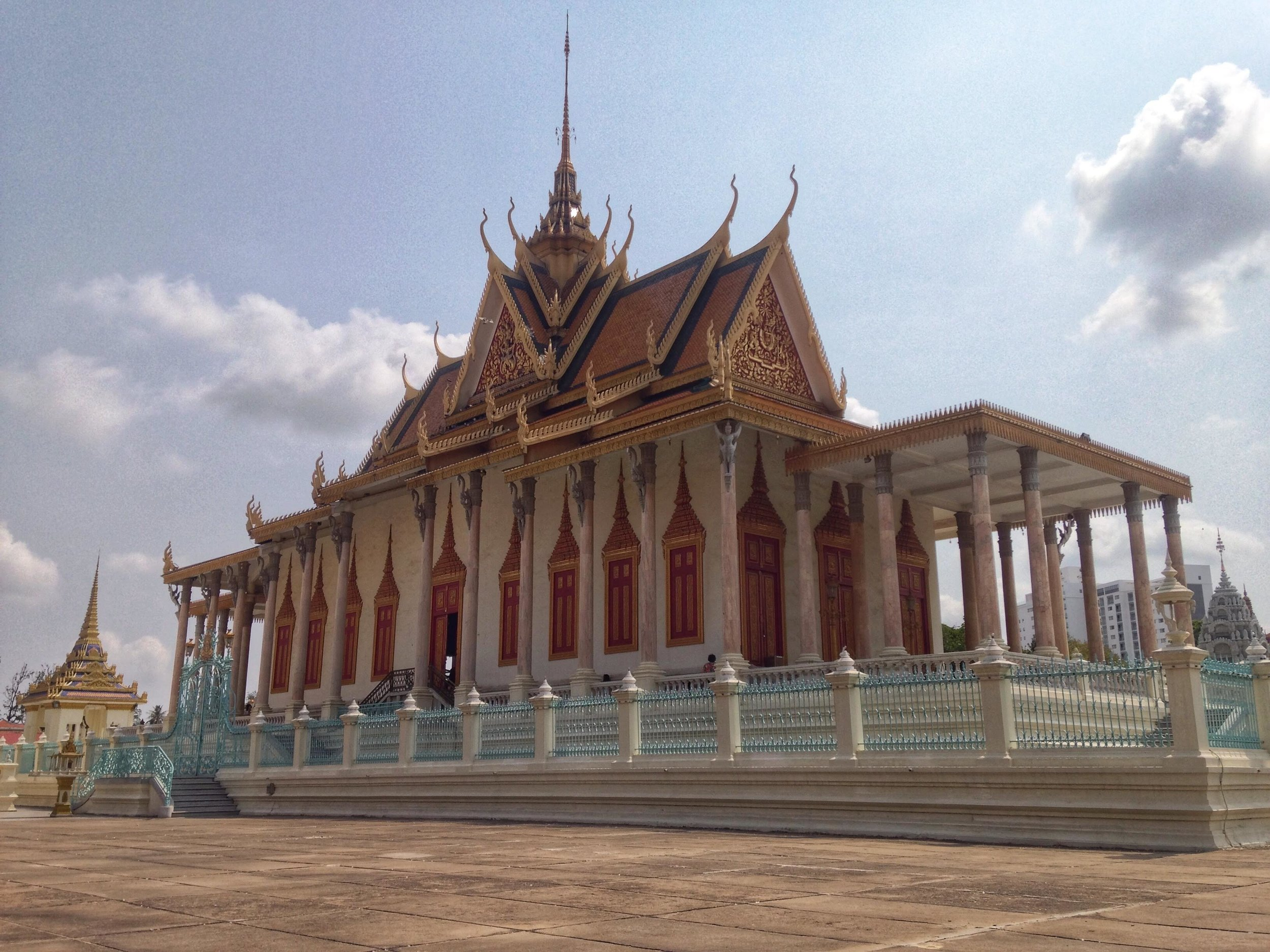 The Silver Pagoda is the most important royal temple in the Kingdom of Cambodia.