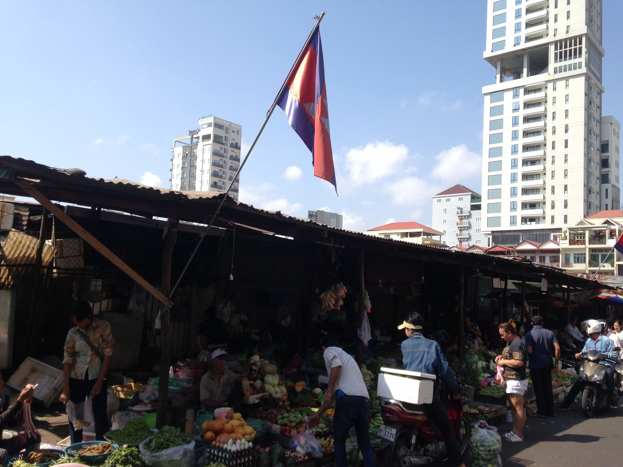 fresh produce at the Russian Market