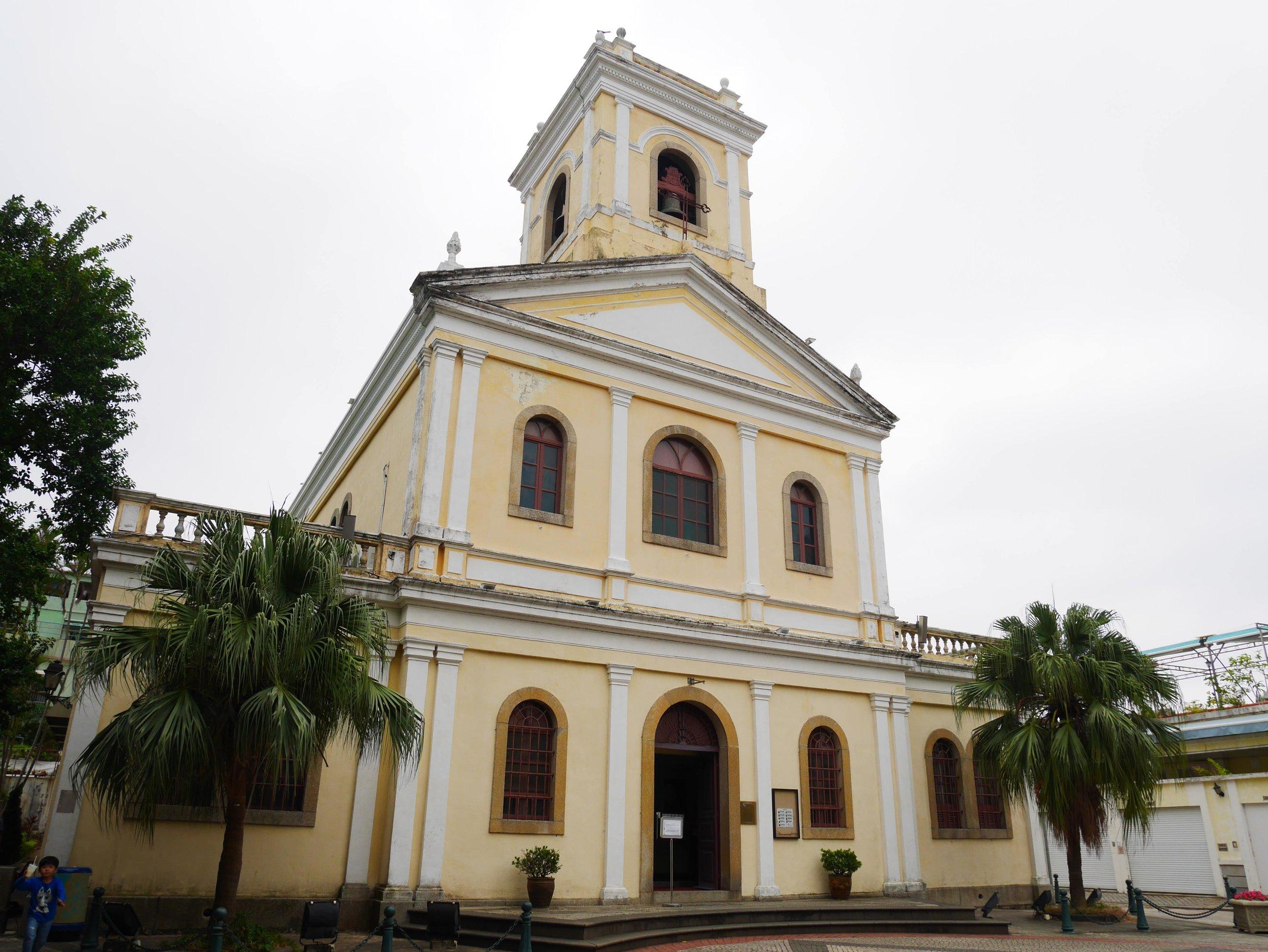 Our Lady of Carmel Church, located near Taipa Houses Museum, Macau