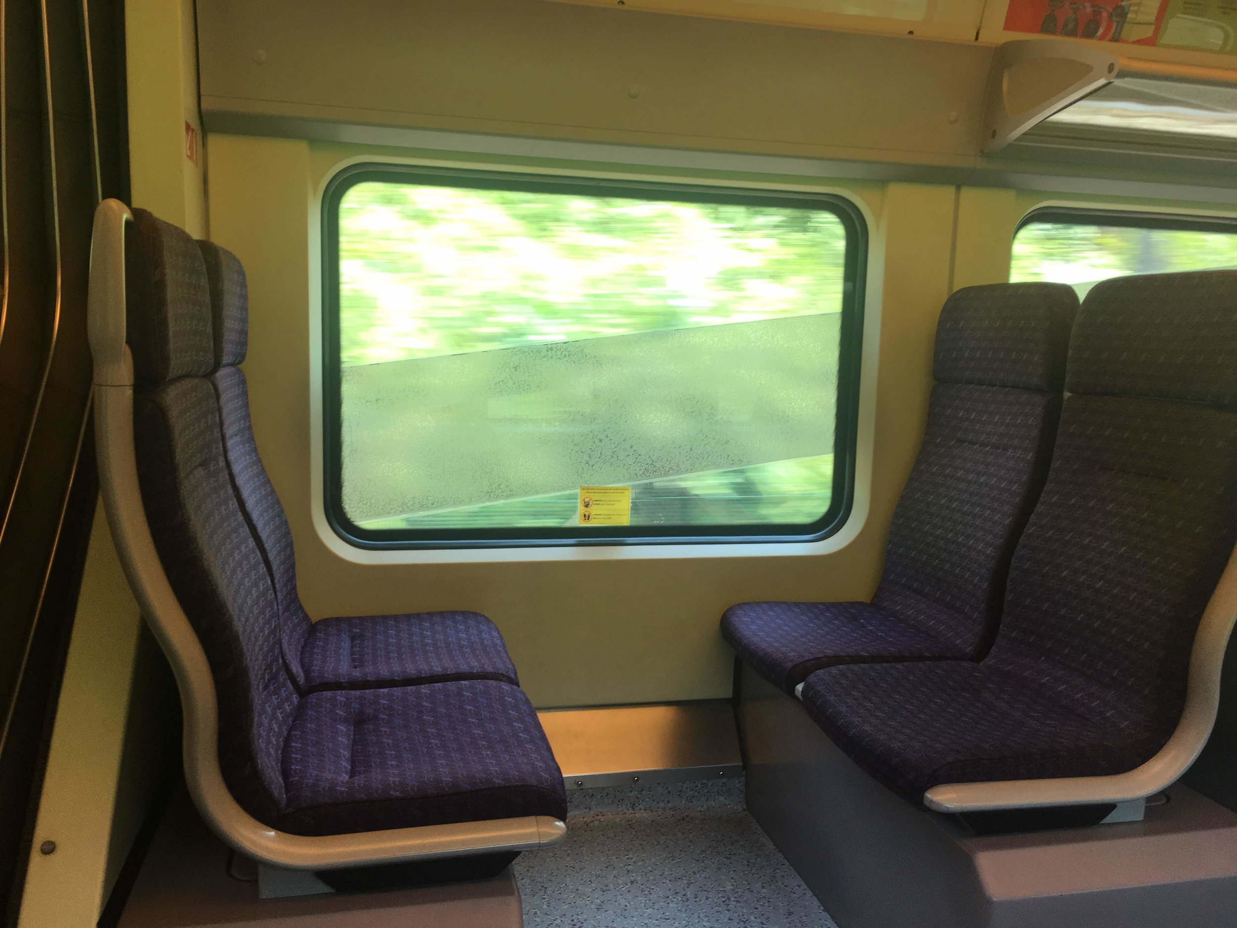 riding the KLIA Transit train from Kuala Lumpur, Malyasia to Putrajaya