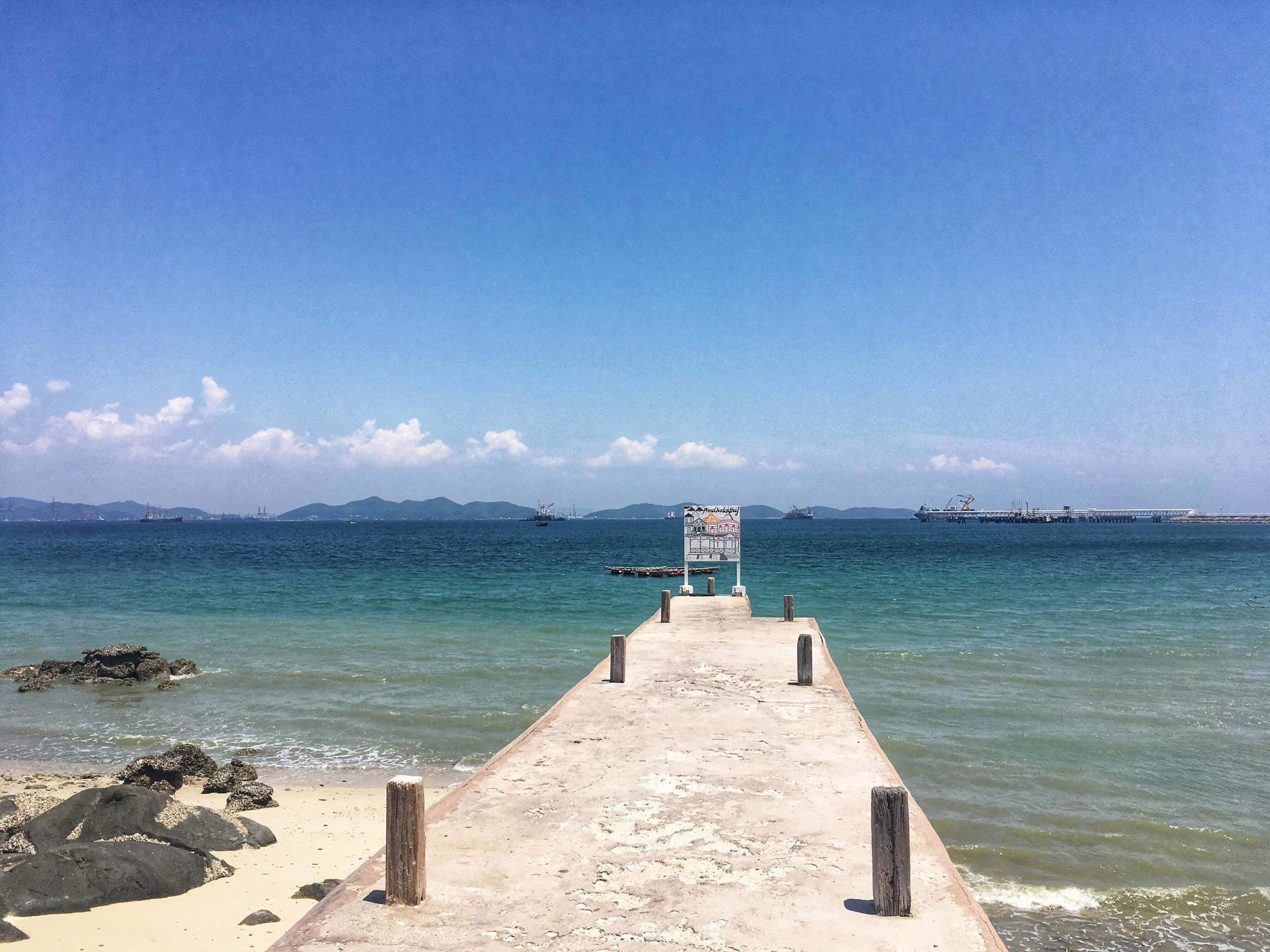 beautiful Koh Sichang in the Gulf of Thailand