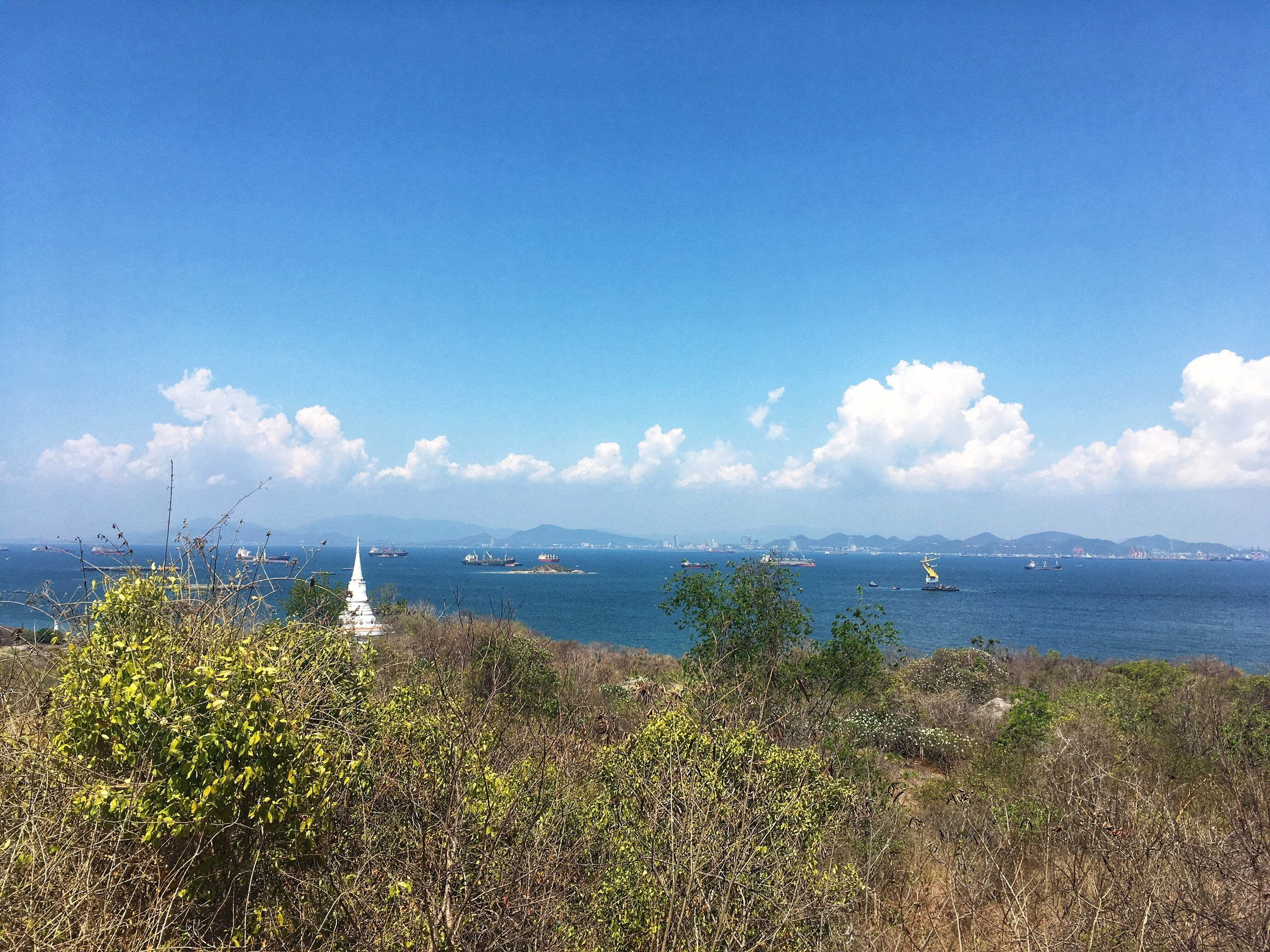 the view from the Koh Sichang viewpoint
