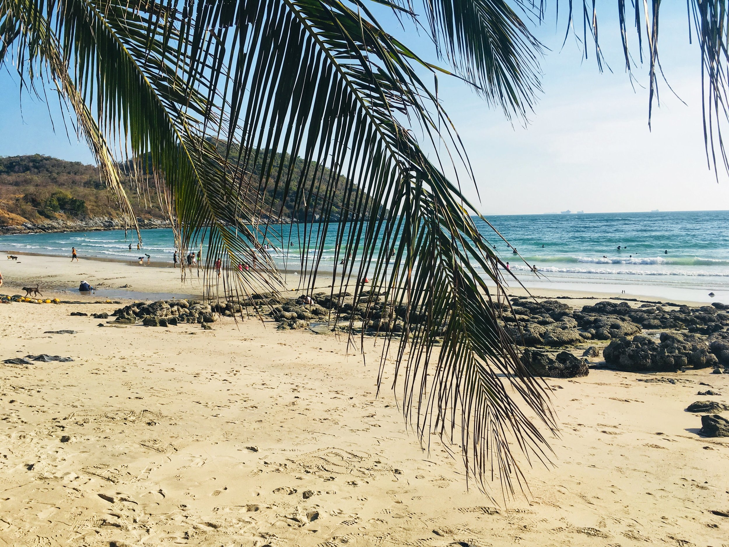 Tham Phang Beach on Koh Sichang Island is the closest and nicest beach to Bangkok
