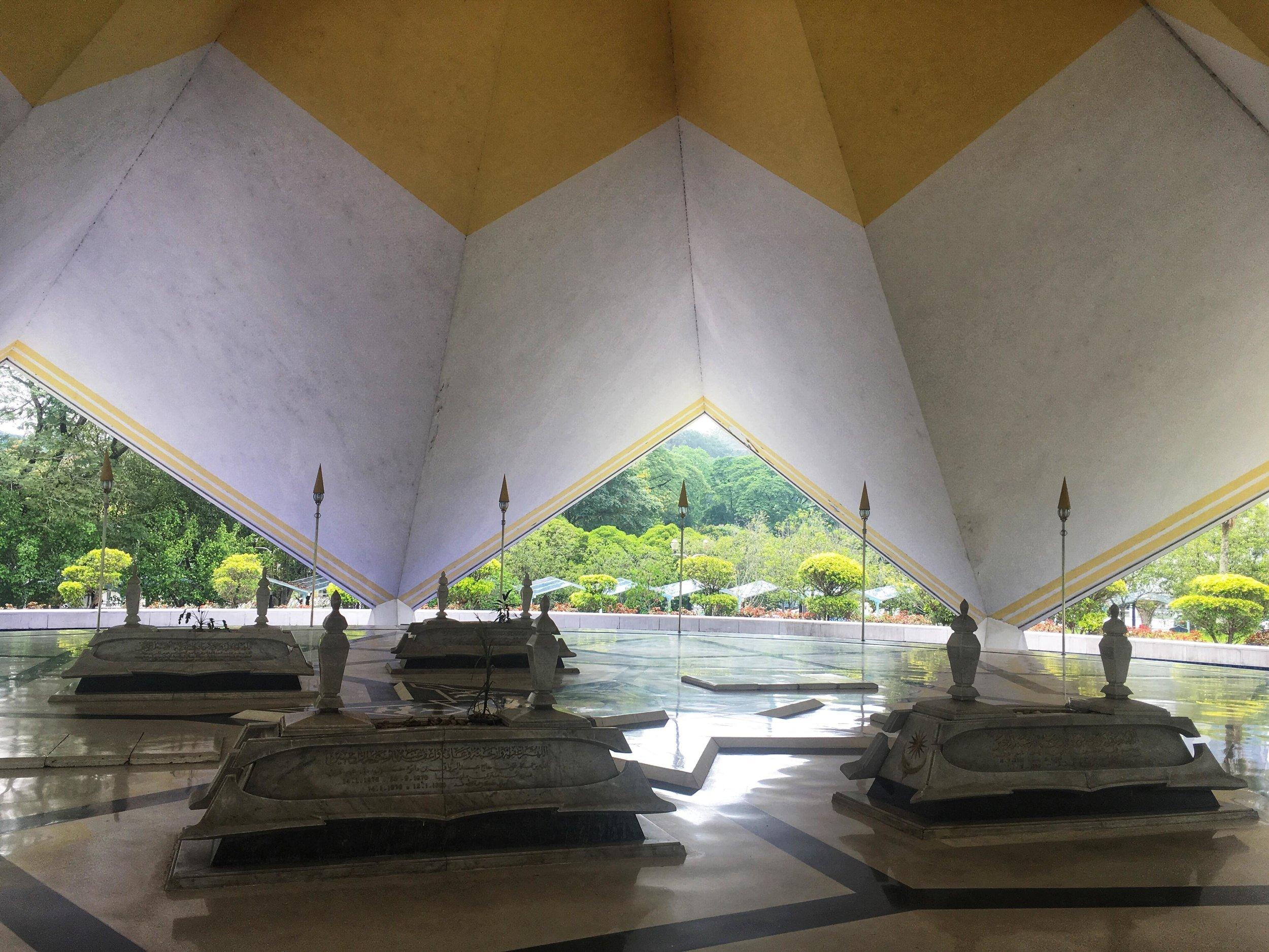 Makam Pahlawan, the Hero's Mausoleum of Malaysia at the National Mosque