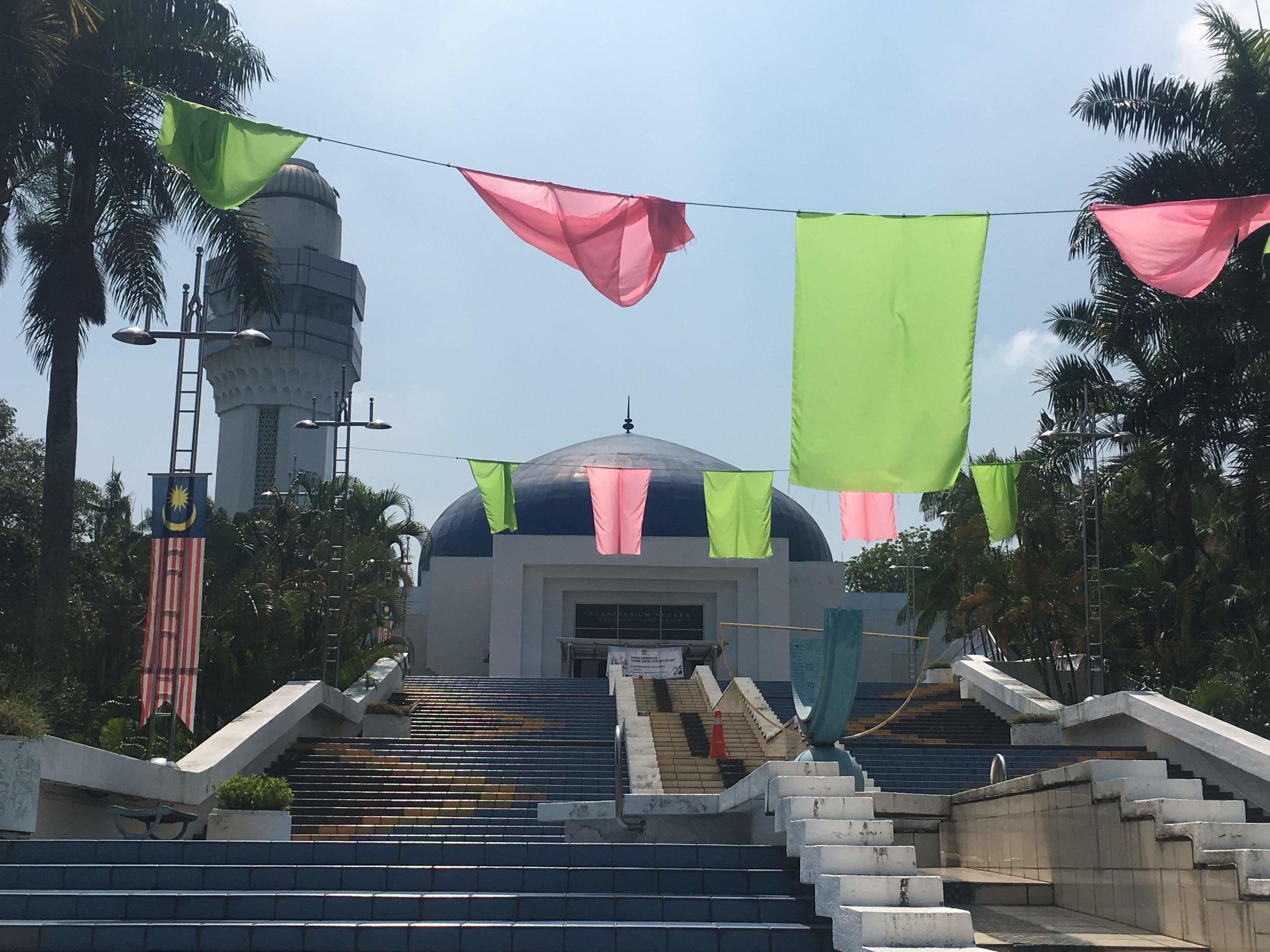 the National Planetarium of Malaysia in Kuala Lumpur