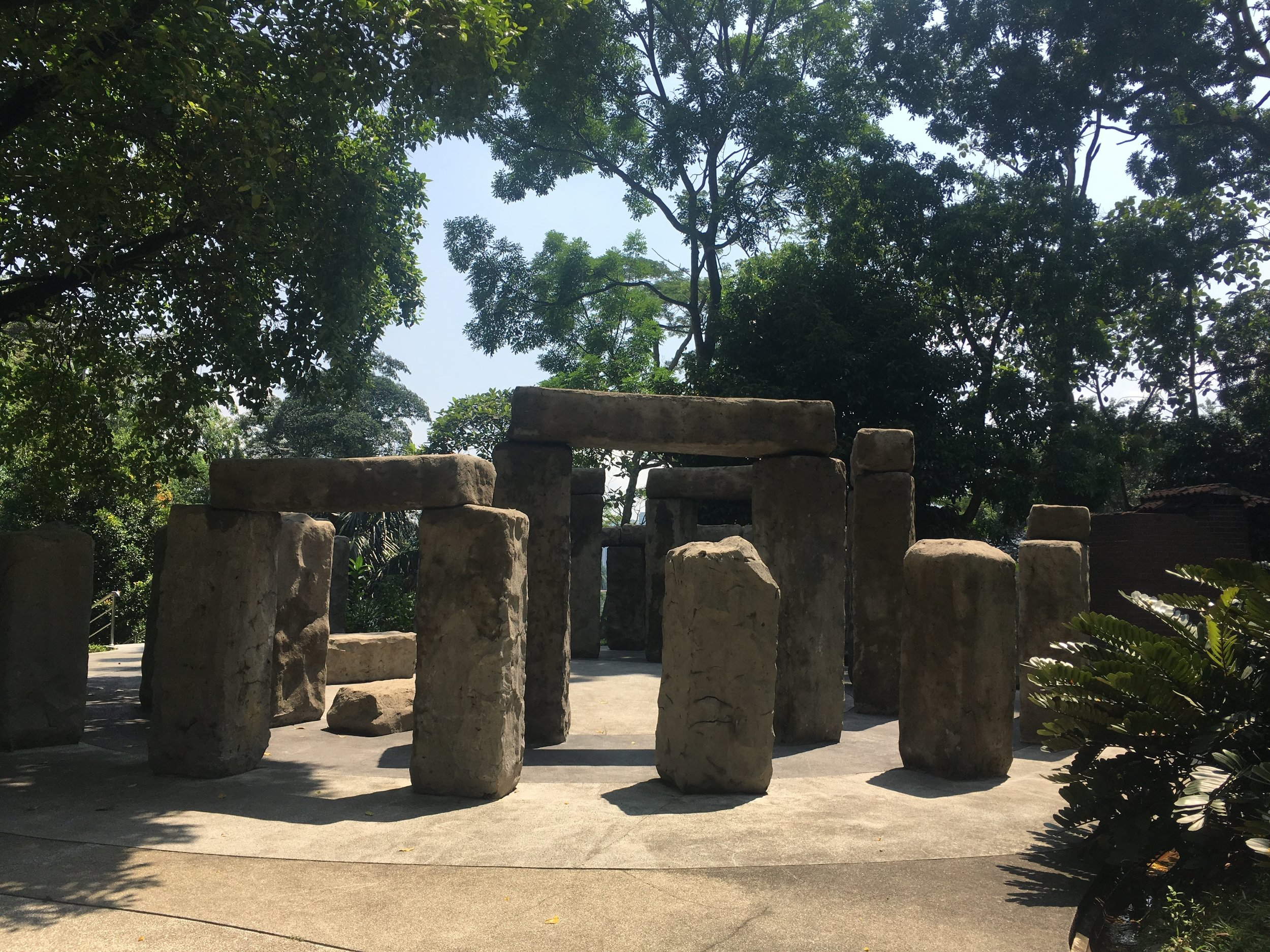 Mini Stonehenge at the National Planetarium of Malaysia