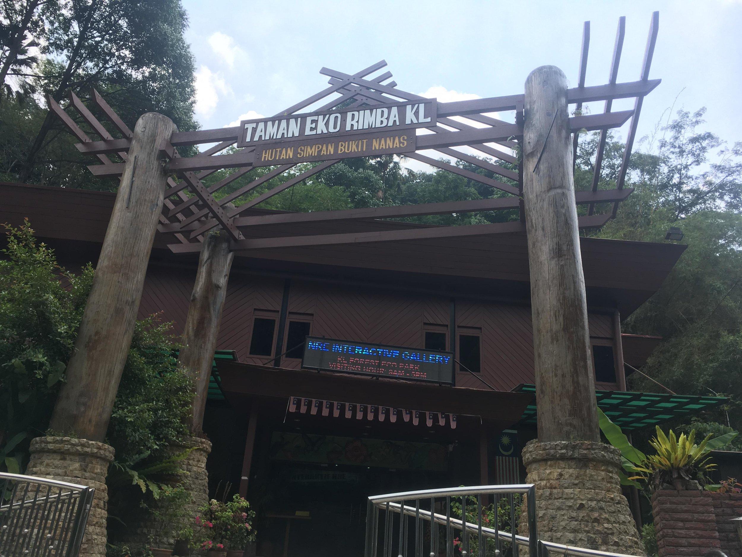 Bukit Nanas Eco Forest Park, Kuala Lumpur, Malaysia