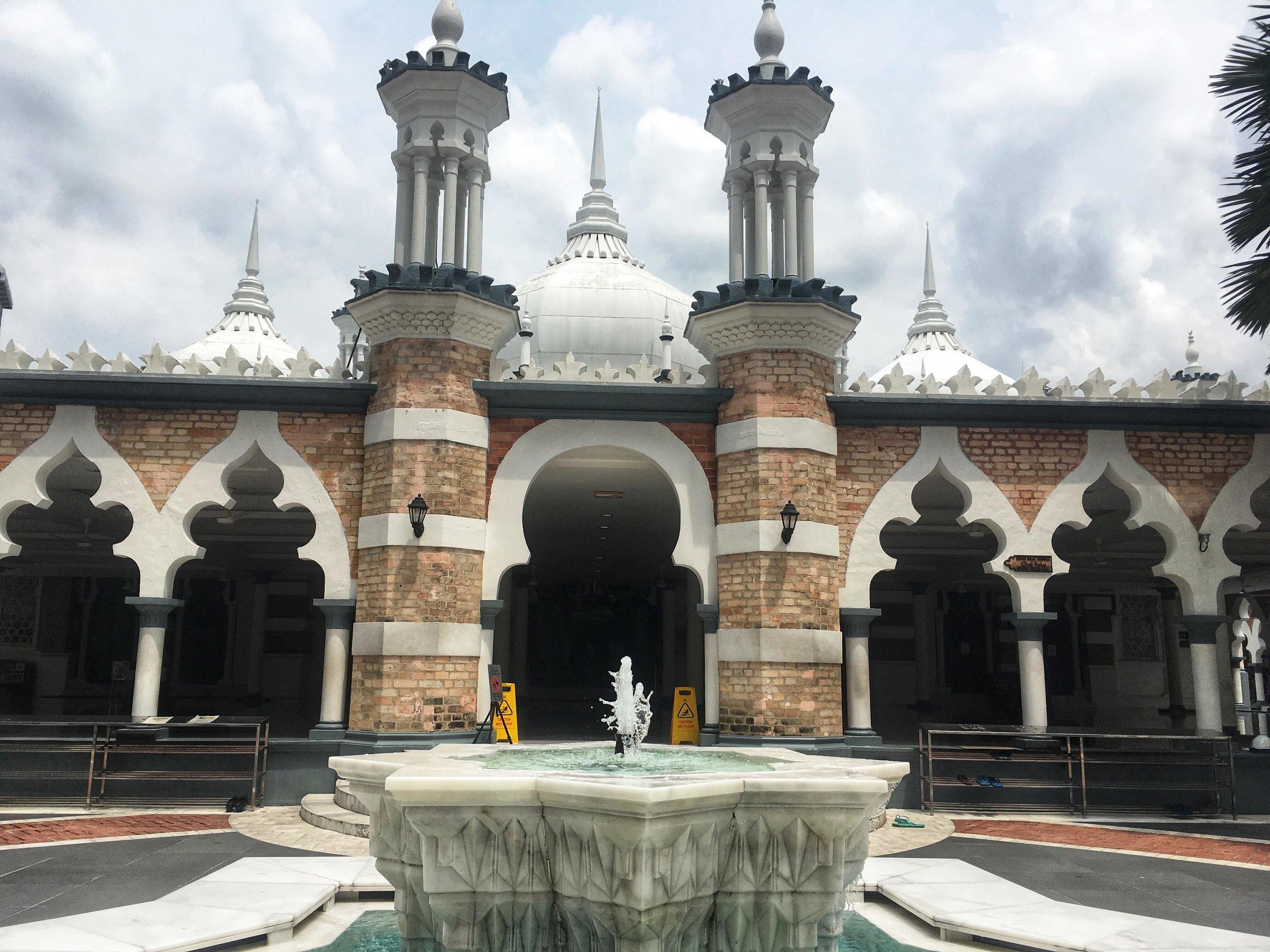 Masjid Jamek, Kuala Lumpur, Malaysia