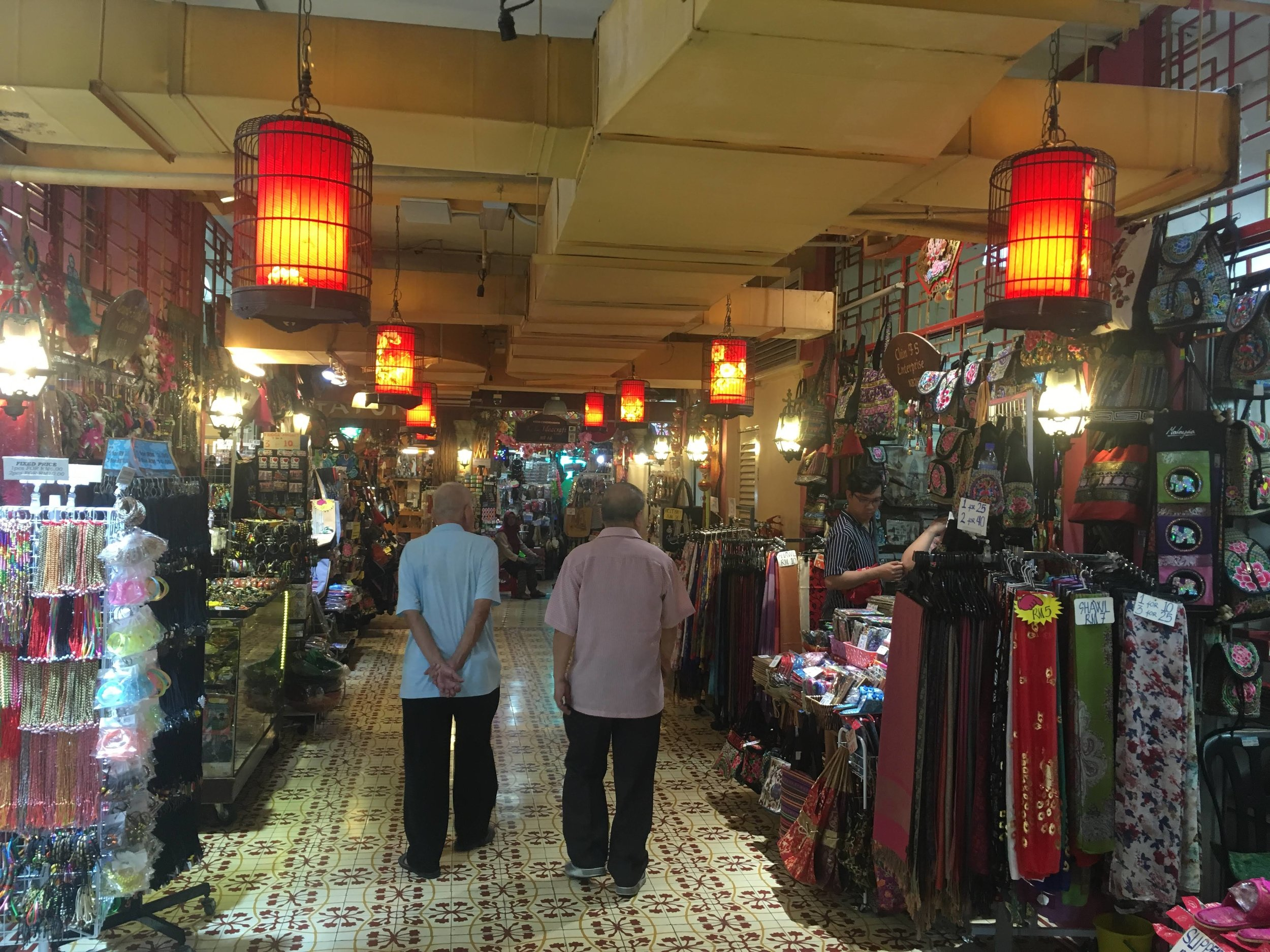 interior of Central Market, Kuala Lumpur, Malaysia